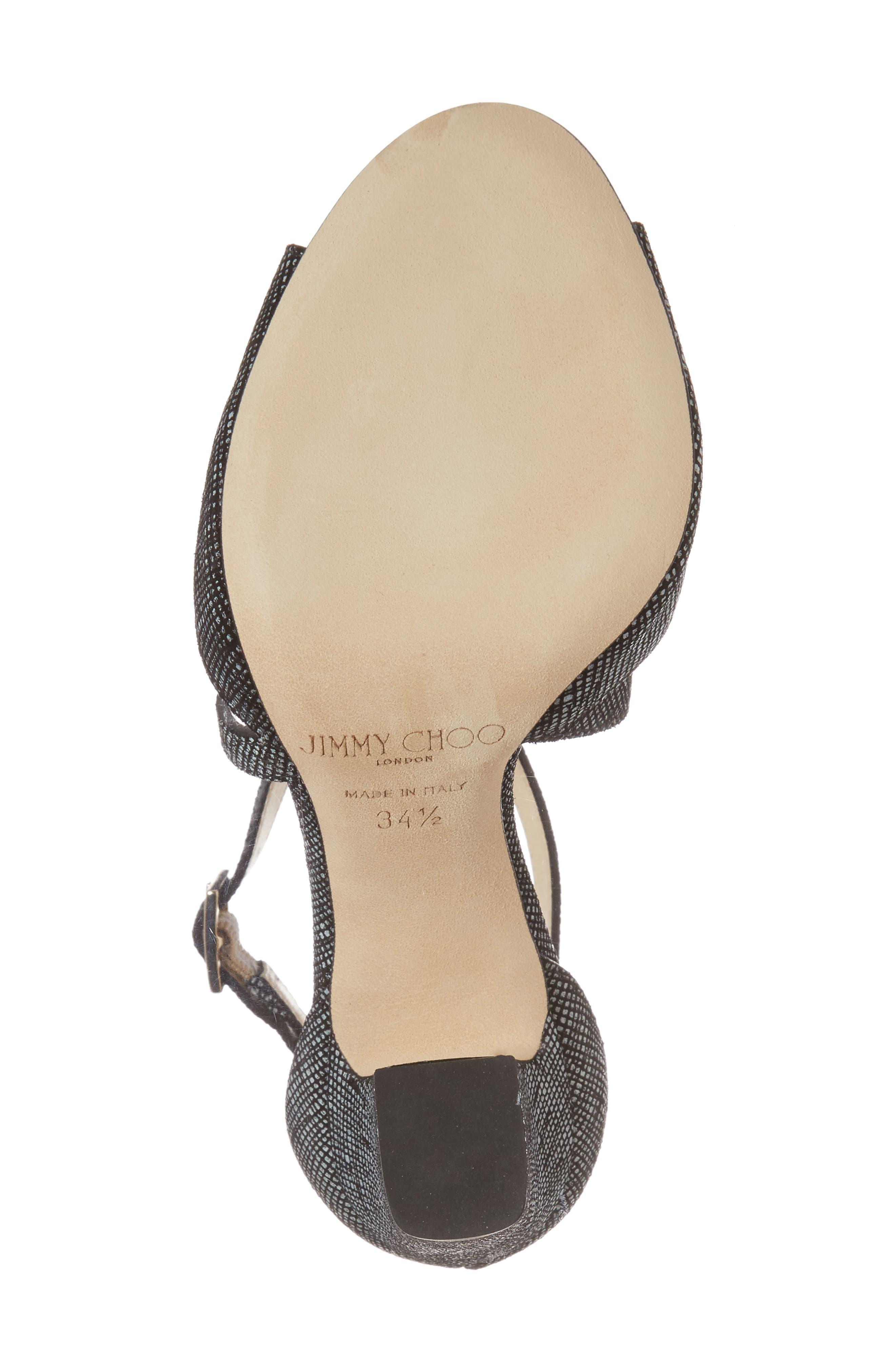 Alternate Image 6  - Jimmy Choo Carrie Cross Strap Sandal (Women)