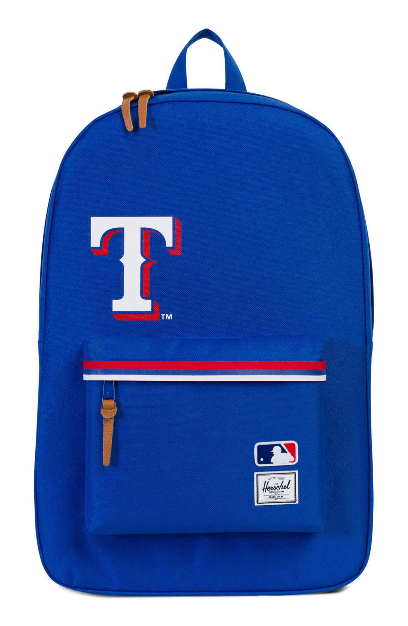 Heritage - MLB American League Backpack,                             Main thumbnail 1, color,                             Texas Rangers