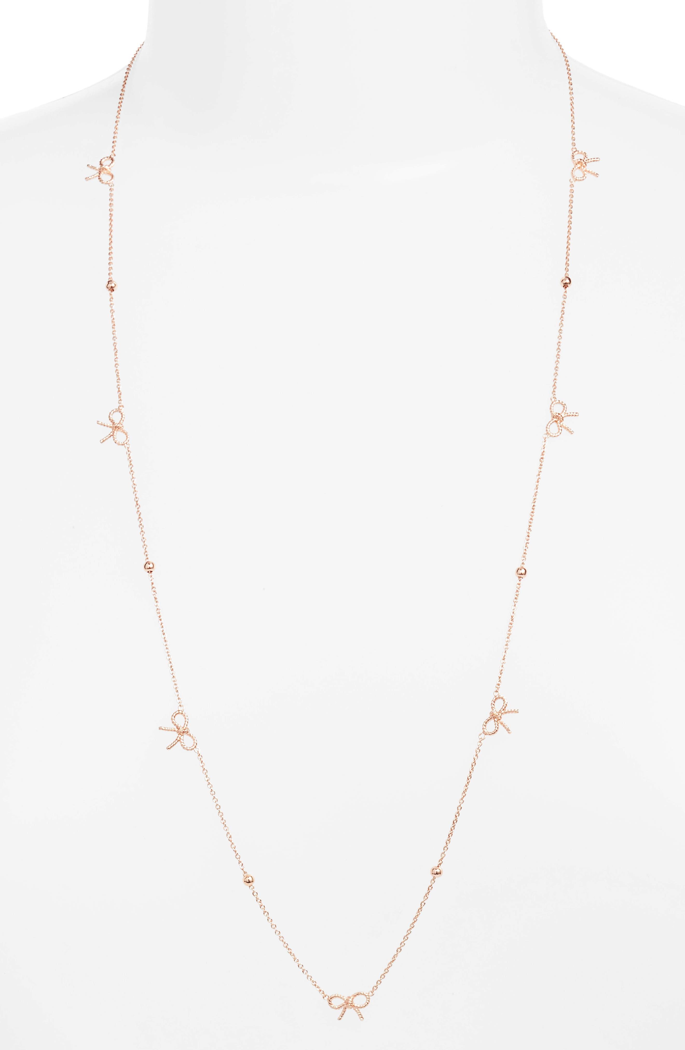 Main Image - Olivia Burton Bow Necklace