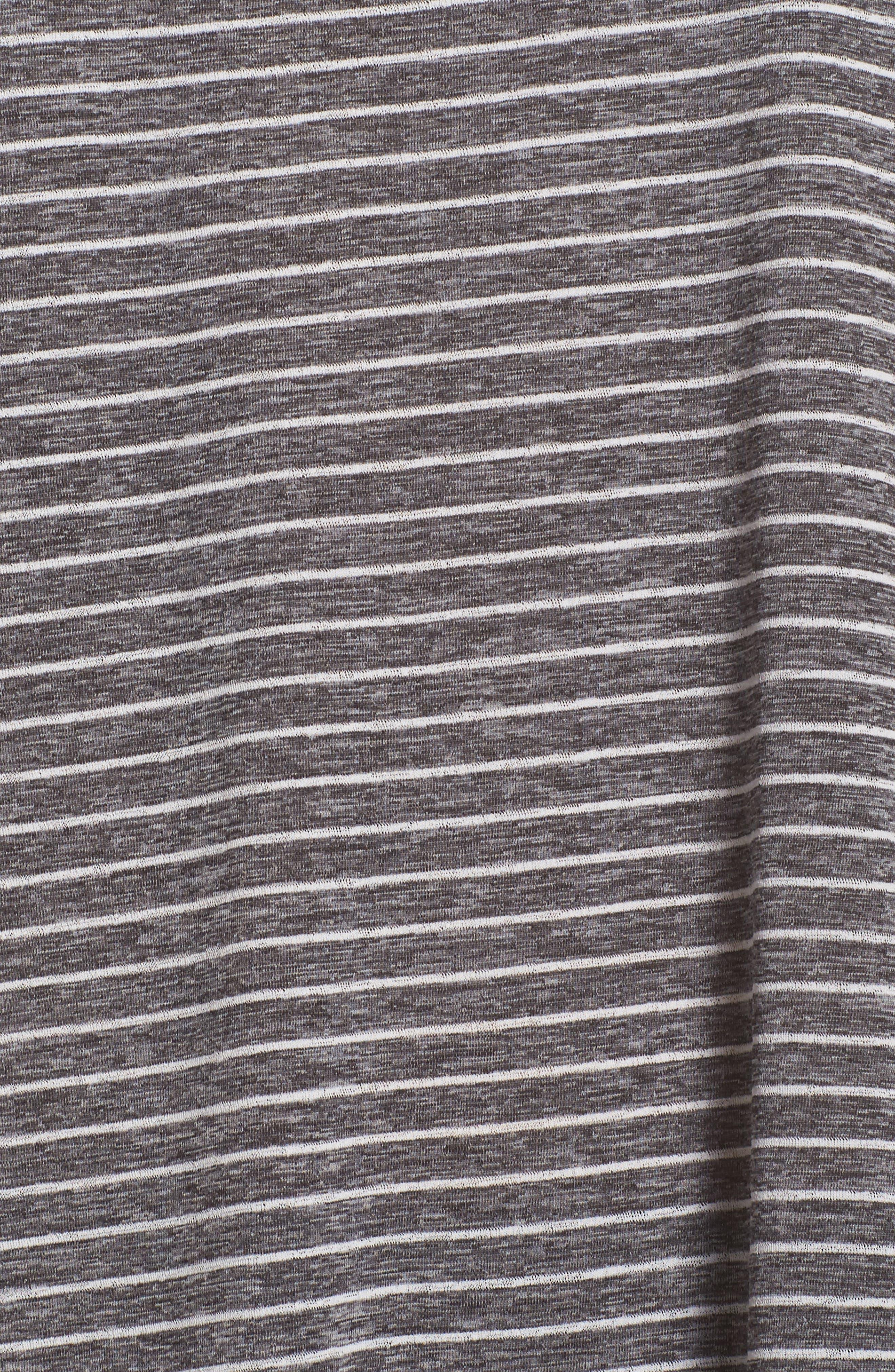 Swim Cover-Up Dress,                             Alternate thumbnail 5, color,                             Black