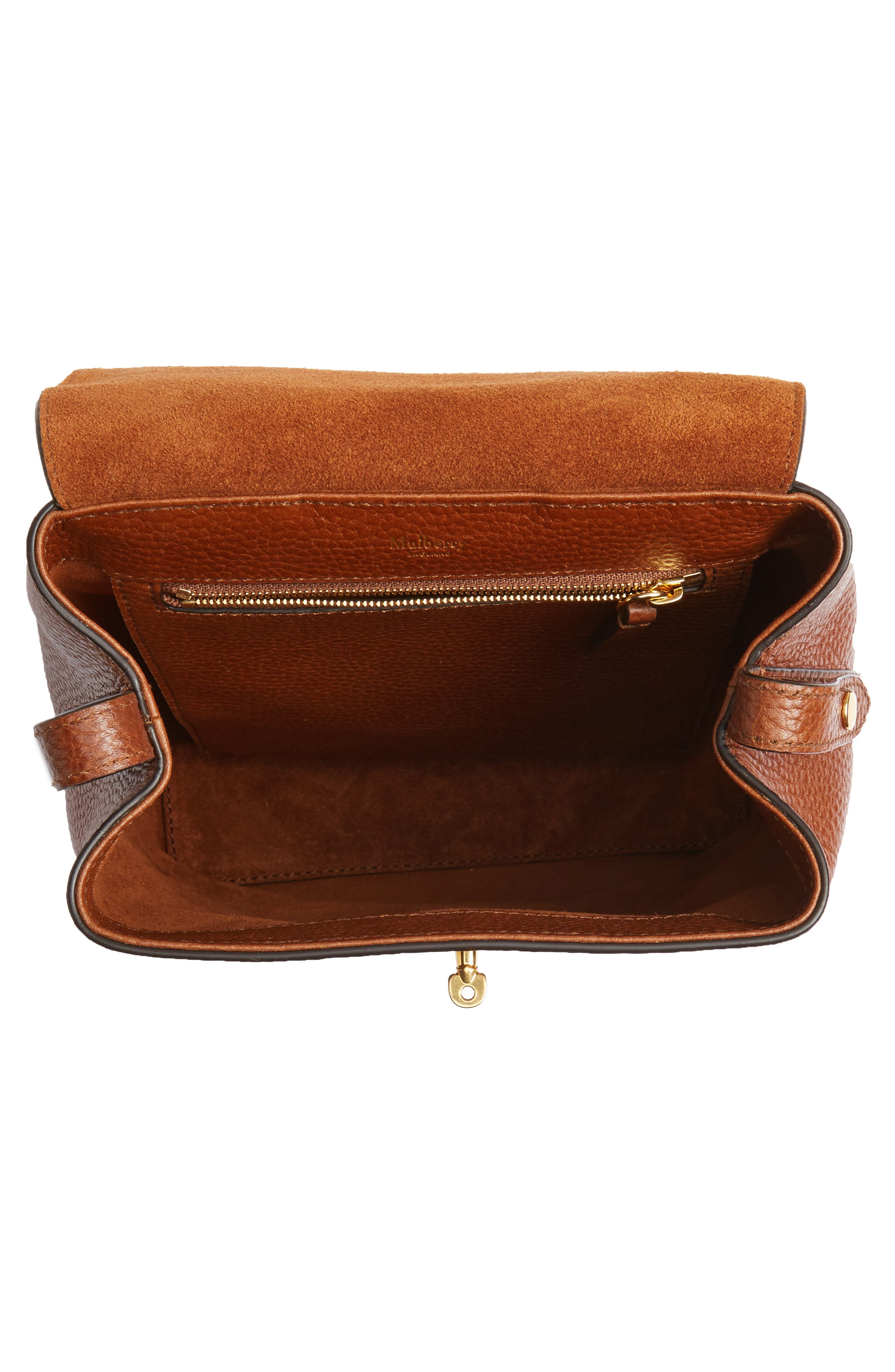 Alternate Image 4  - Mulberry Mini Bayswater Calfskin Leather Convertible Backpack
