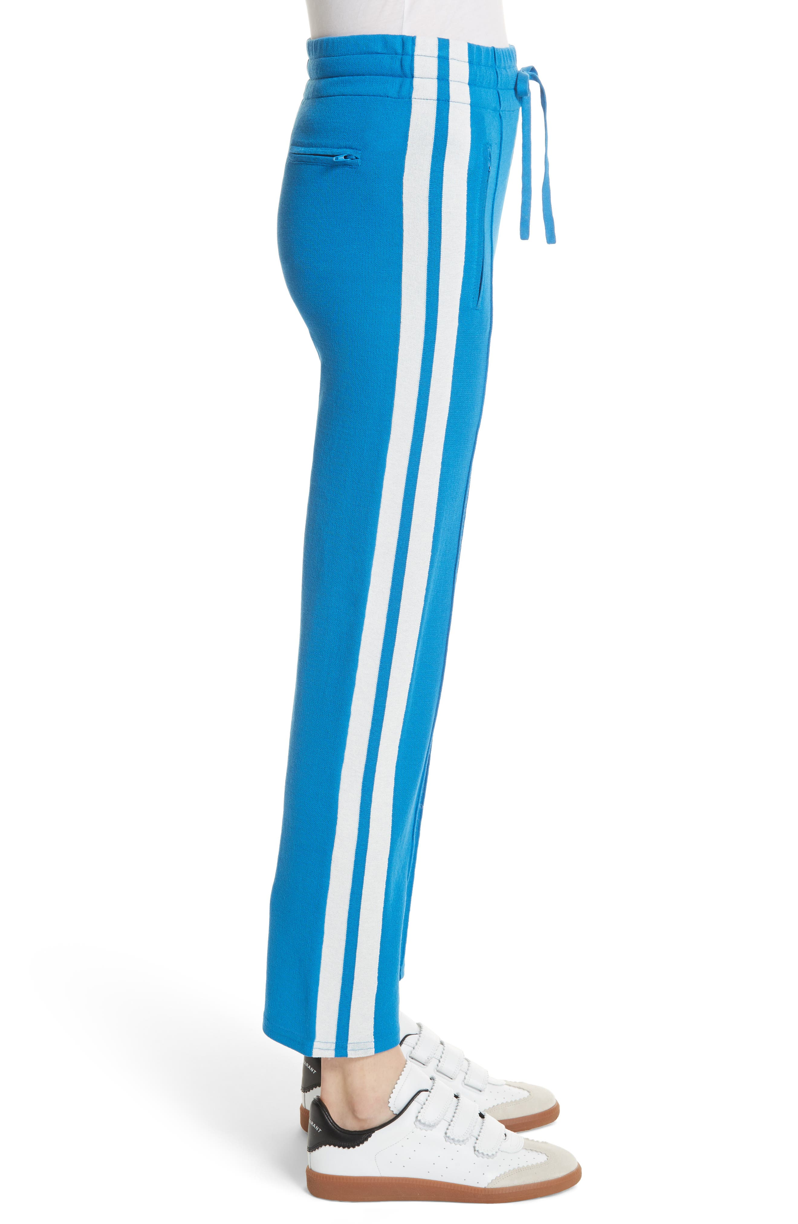 Isabel Marant Étoile Dobbs Pants,                             Alternate thumbnail 4, color,                             Electric Blue