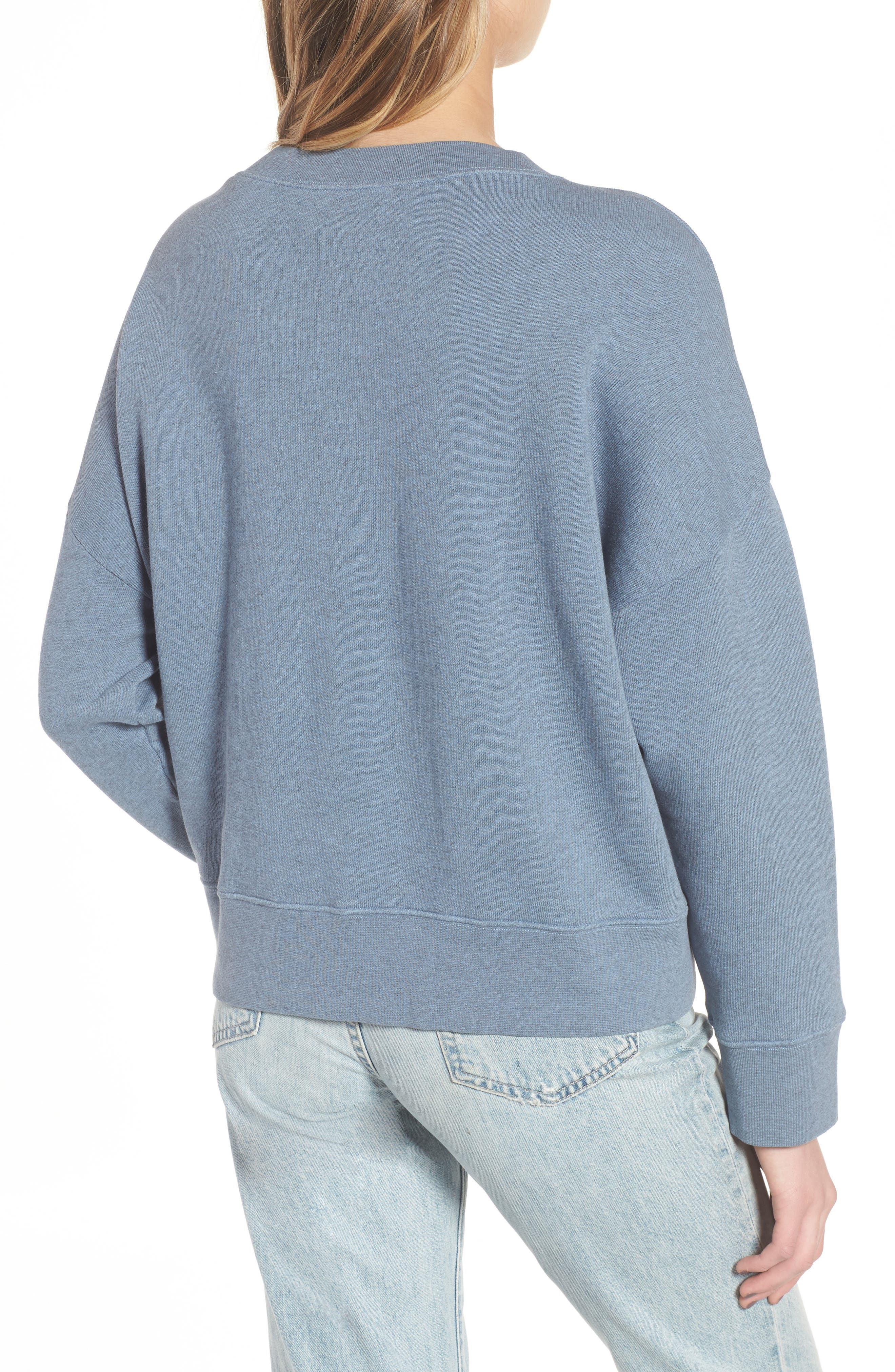 Kyoto Sweatshirt,                             Alternate thumbnail 2, color,                             Blue