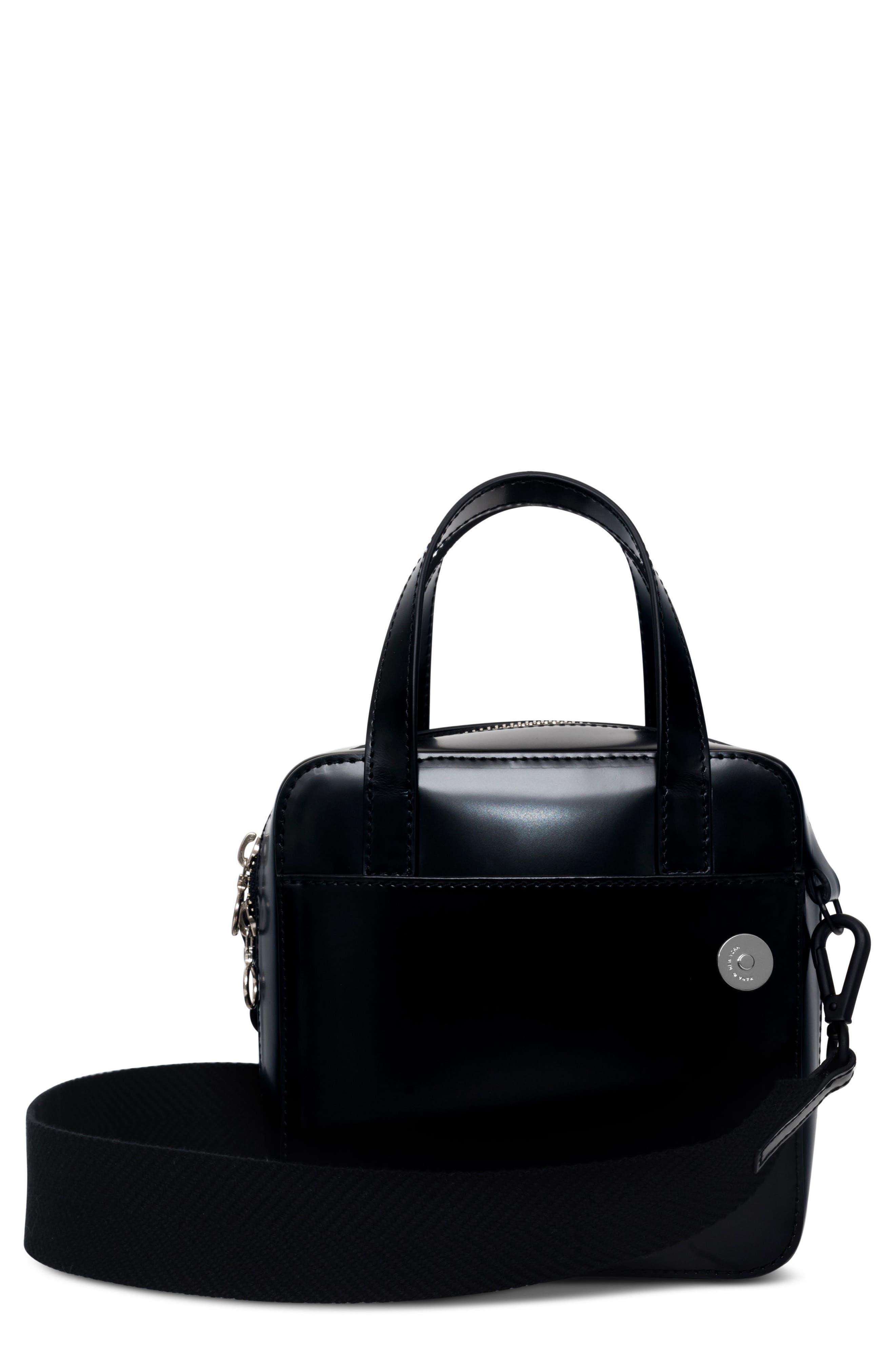 Small Brick Bag,                             Main thumbnail 1, color,                             Void Black