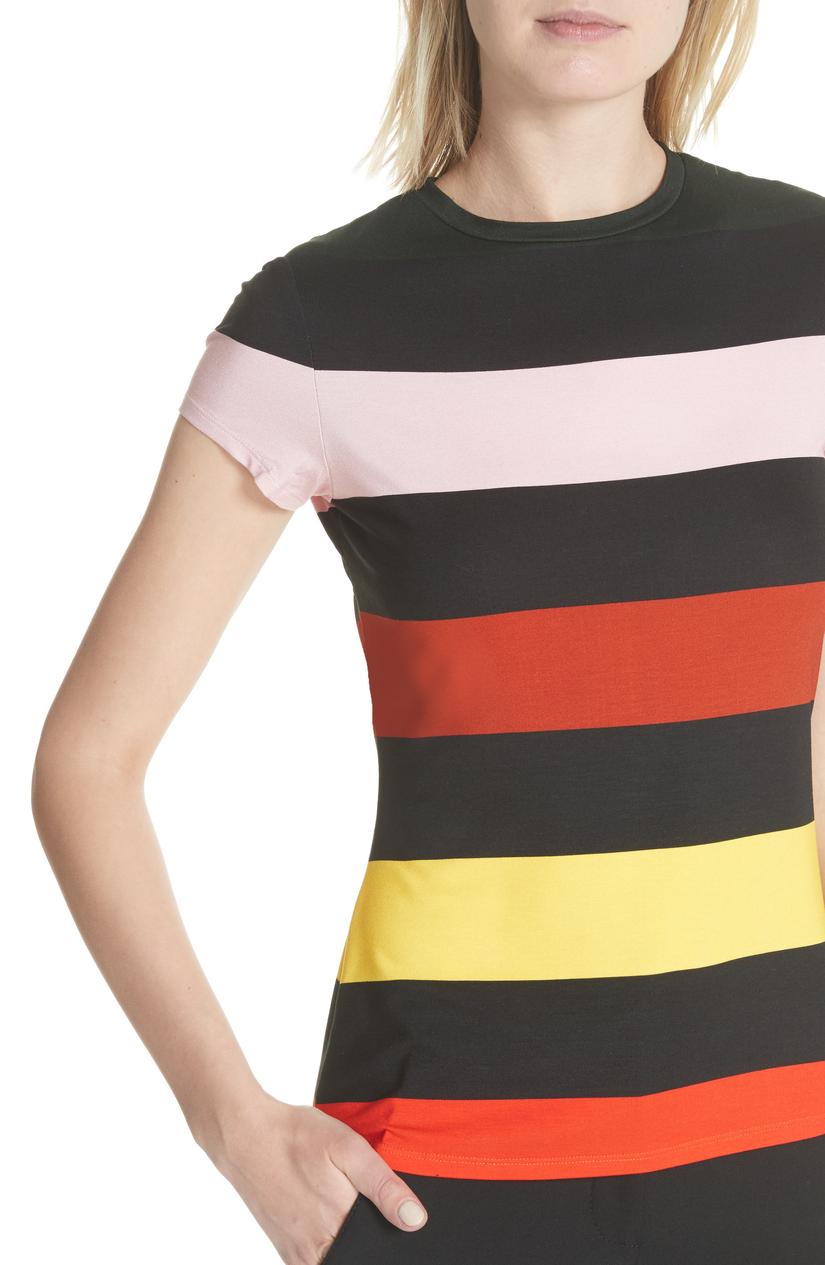 Alternate Image 4  - Ted Baker London Cruise Stripe Fitted Tee