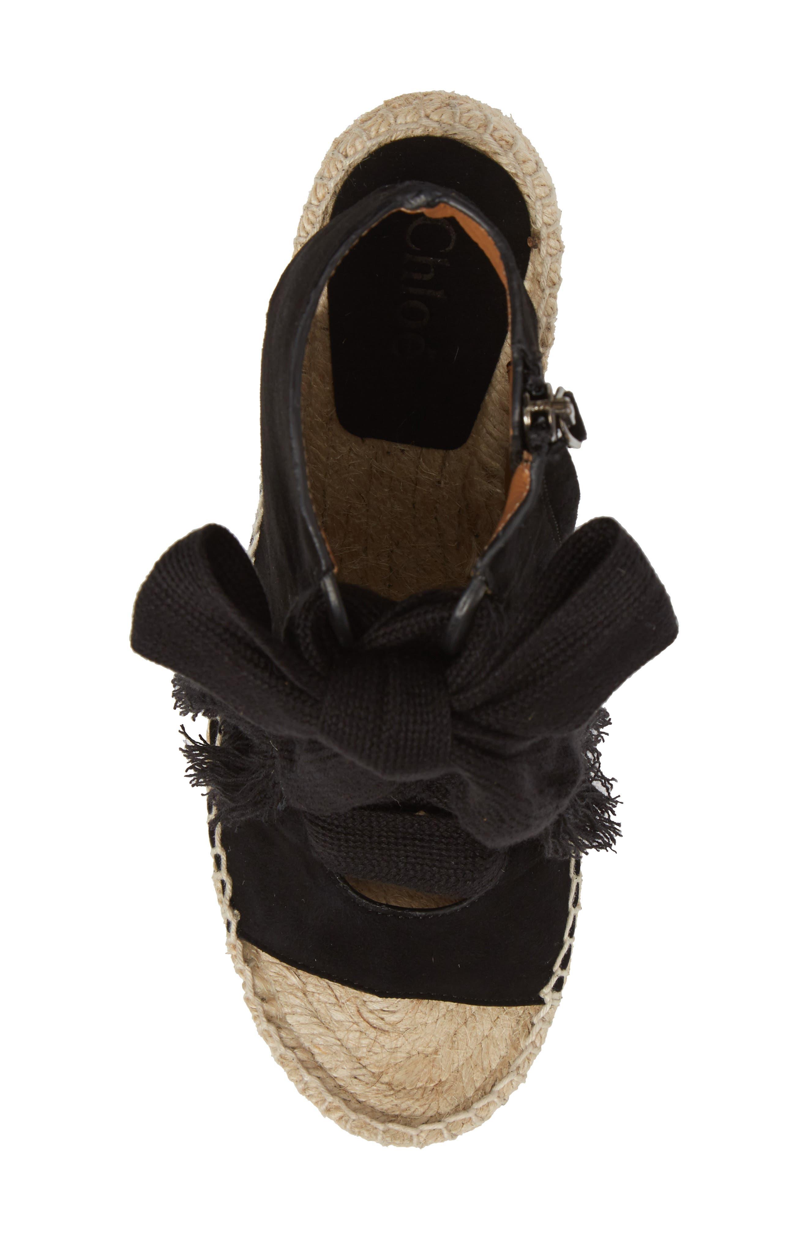 Alternate Image 5  - Chloé Harper Peep Toe Espadrille Bootie (Women)