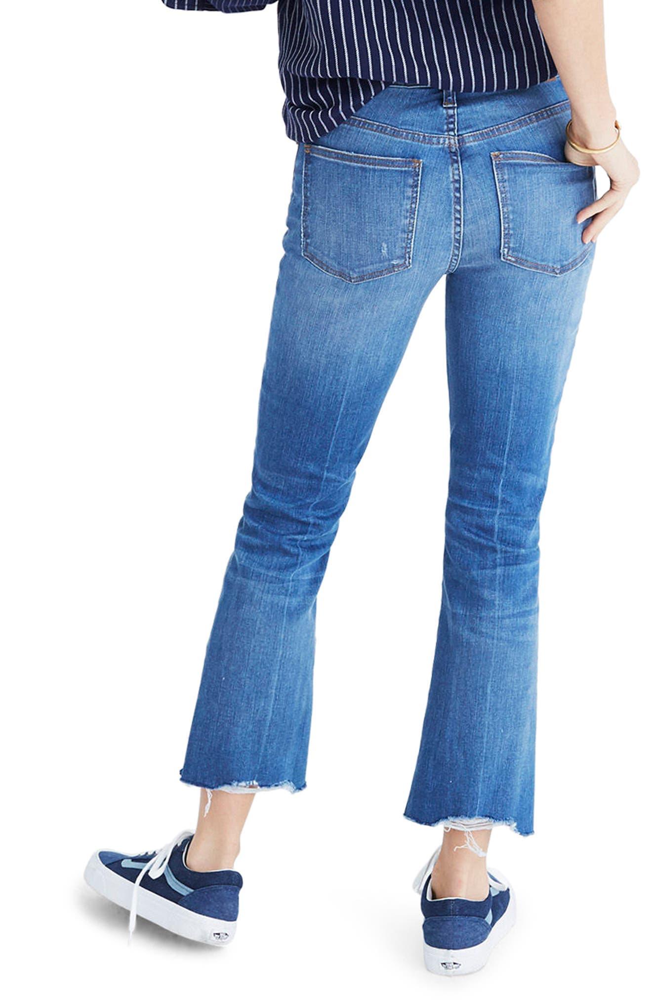 Cali Demi Boot Jeans,                             Alternate thumbnail 2, color,                             Haywood Wash