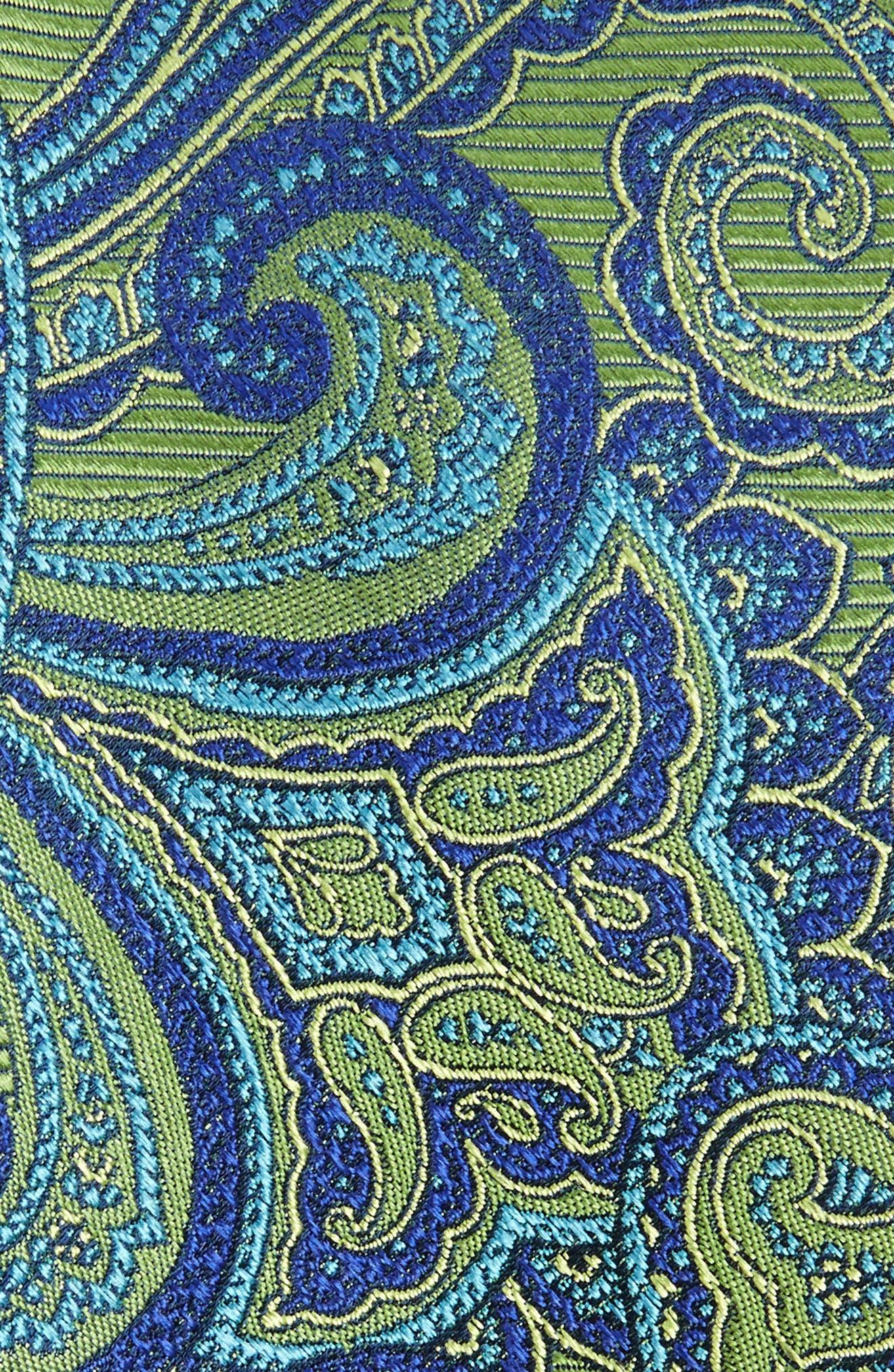 Alternate Image 2  - Nordstrom Men's Shop Avalon Paisley Silk Tie