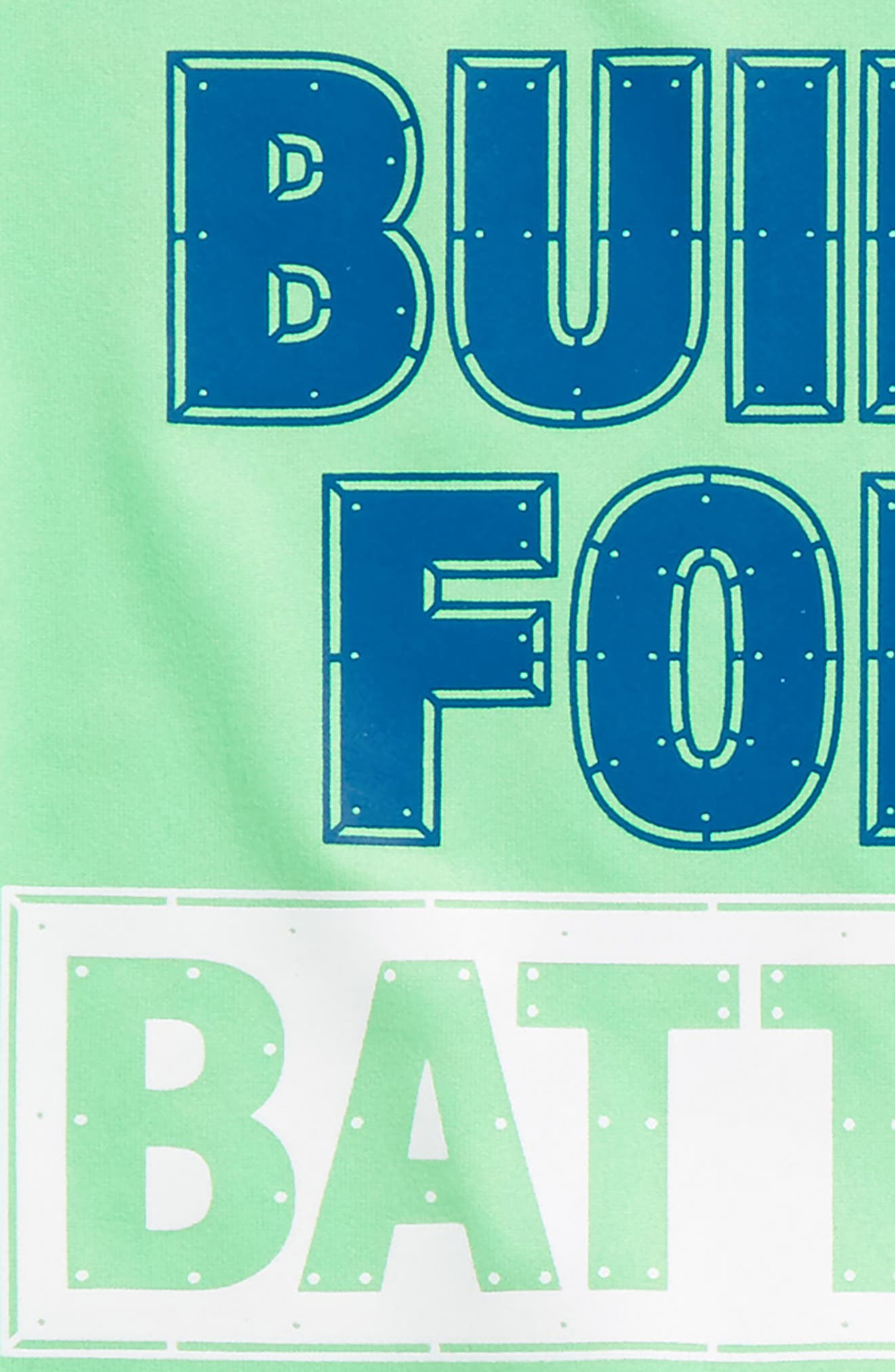 Built for Battle T-Shirt & Shorts Set,                             Alternate thumbnail 2, color,                             Arena Green