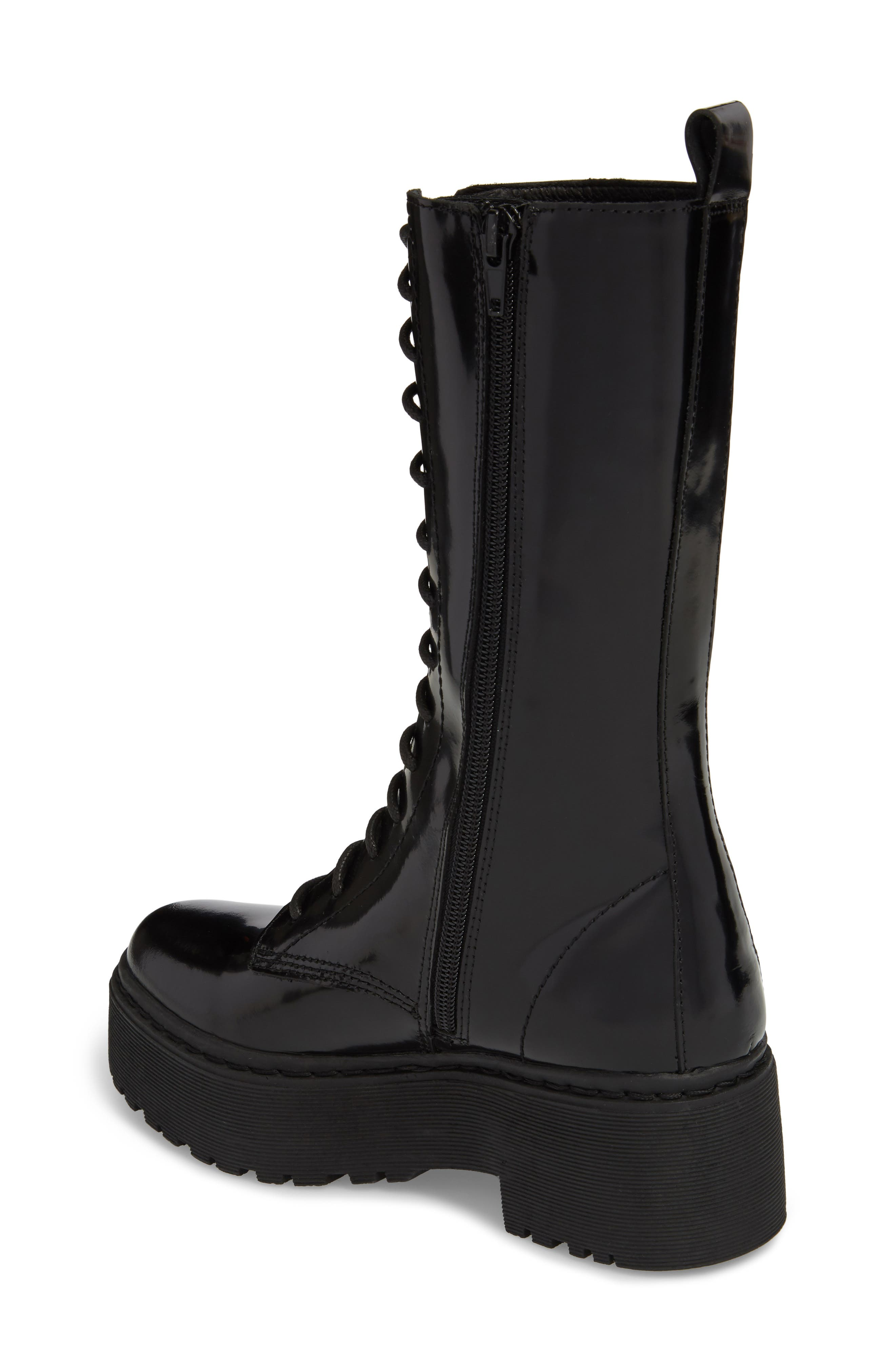Finnick Lace-Up Boot,                             Alternate thumbnail 2, color,                             Black Box