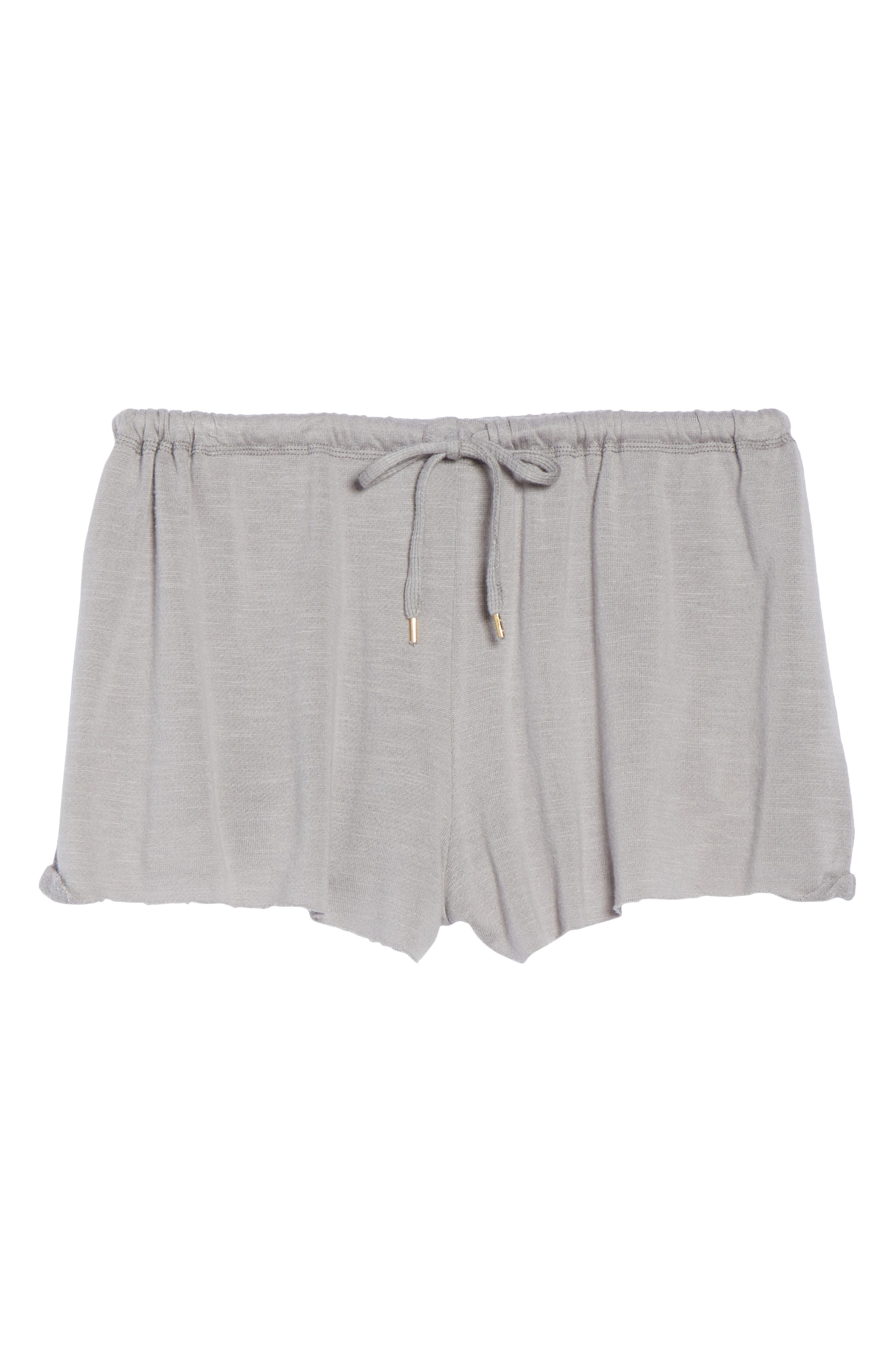 French Terry Lounge Shorts,                             Alternate thumbnail 7, color,                             Katana