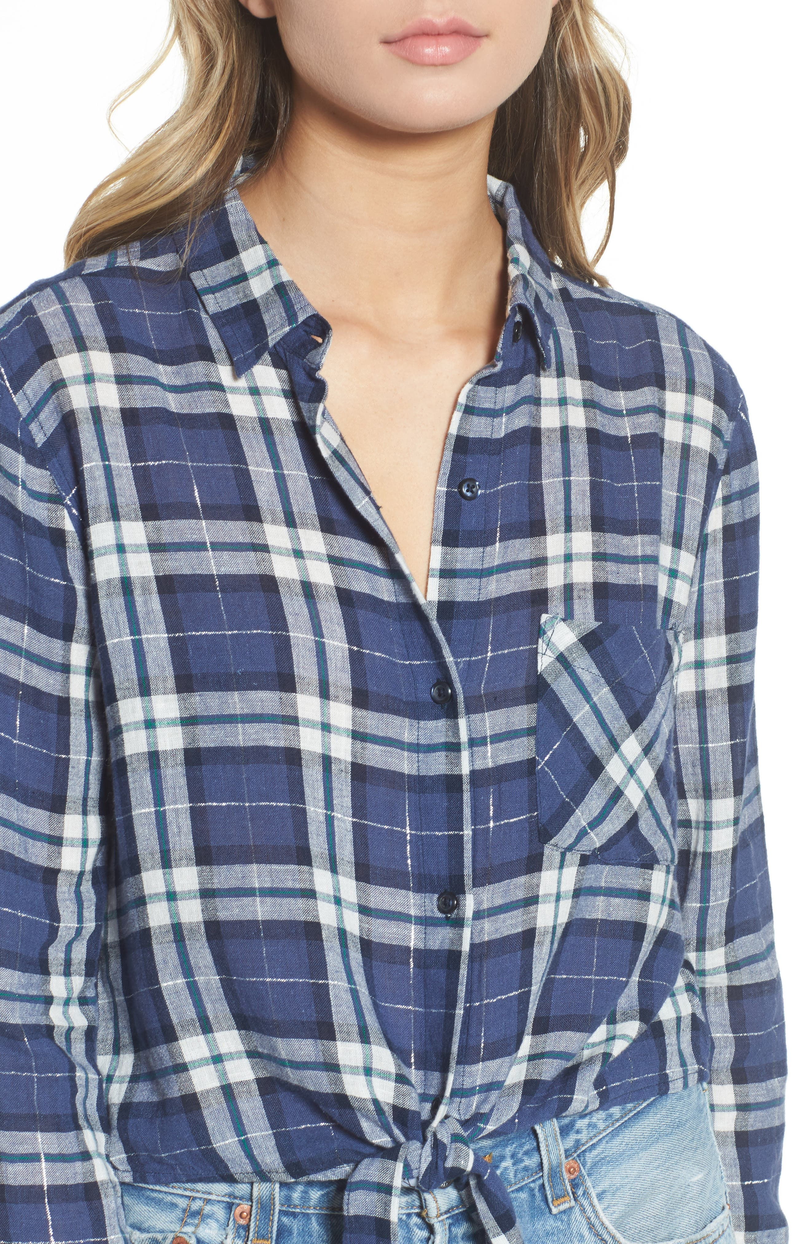 Alternate Image 4  - Rails Val Tie Front Shirt