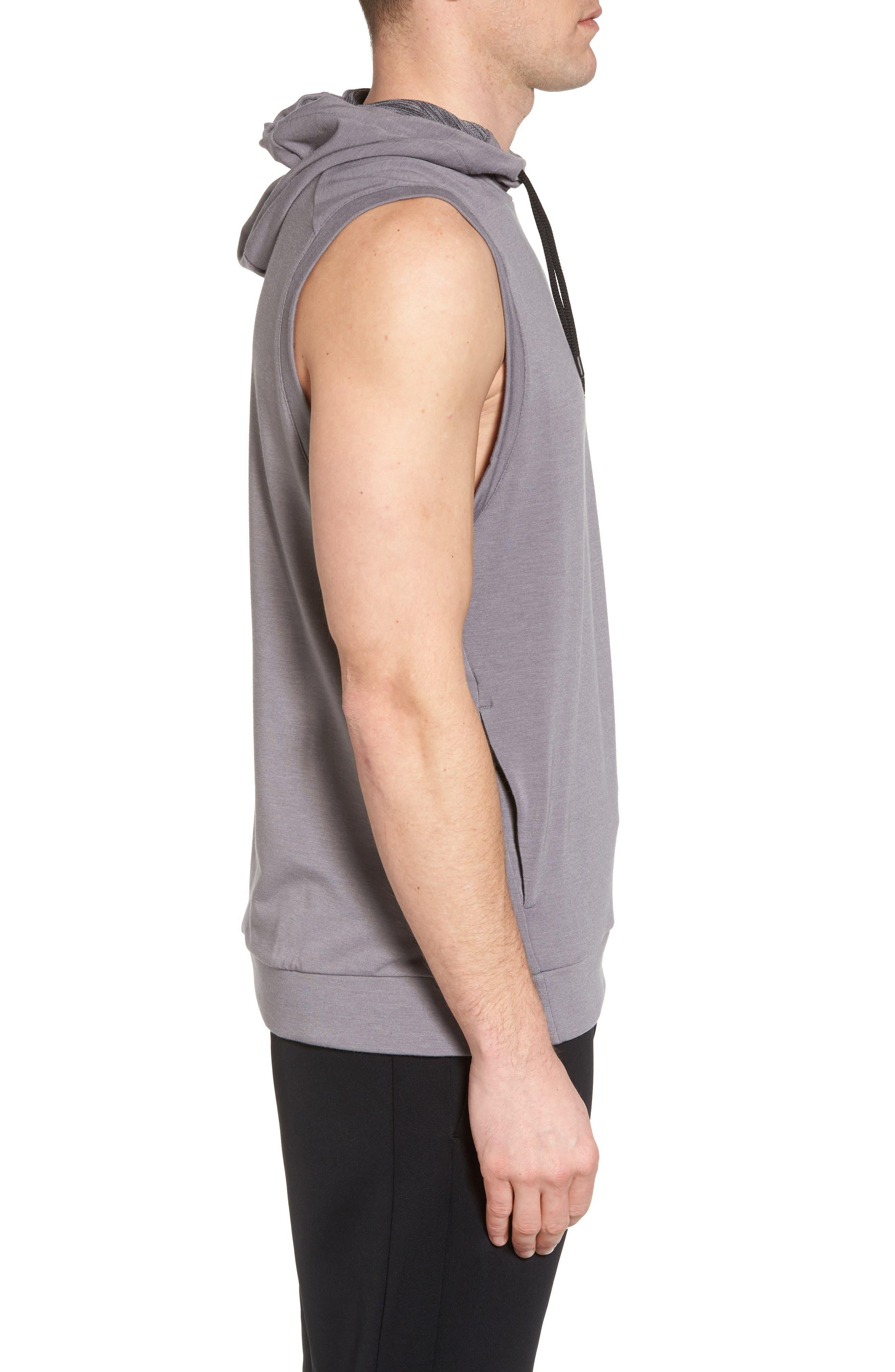 Alternate Image 3  - Nike Dry Training Day Sleeveless Hoodie