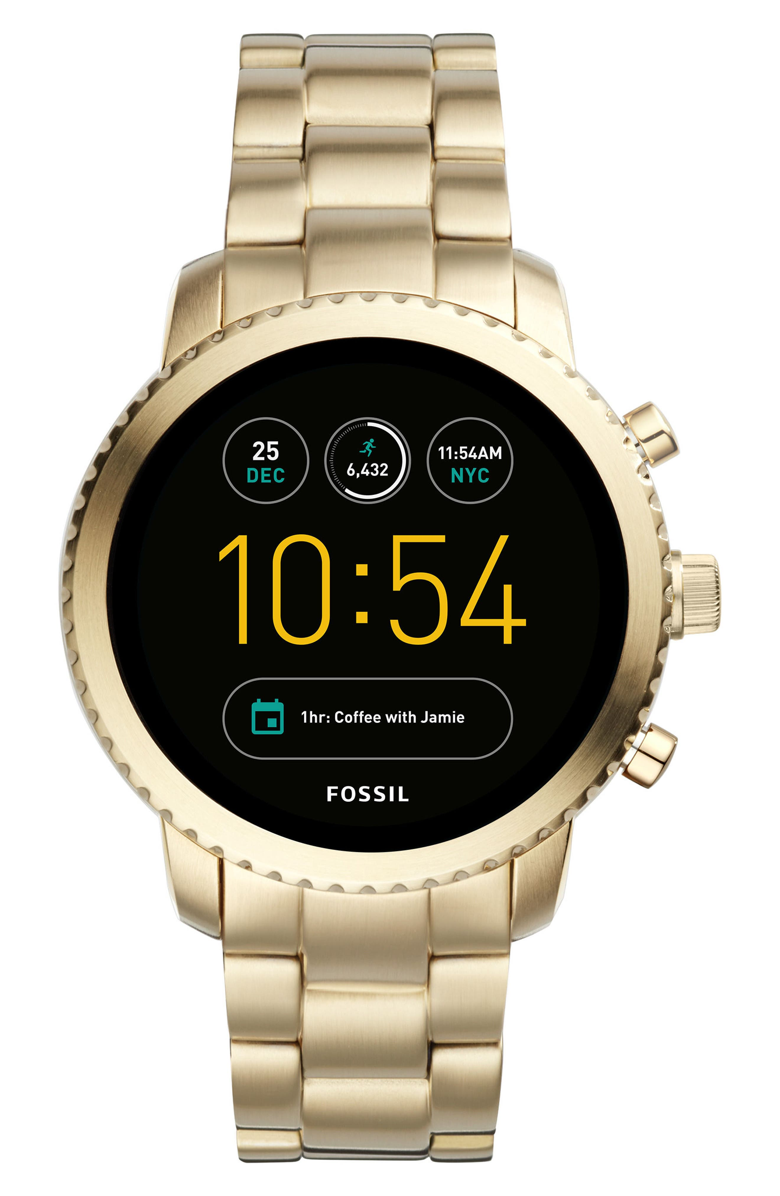 Fossil Q Explorist Gen 3 Bracelet Smart Watch, 46mm
