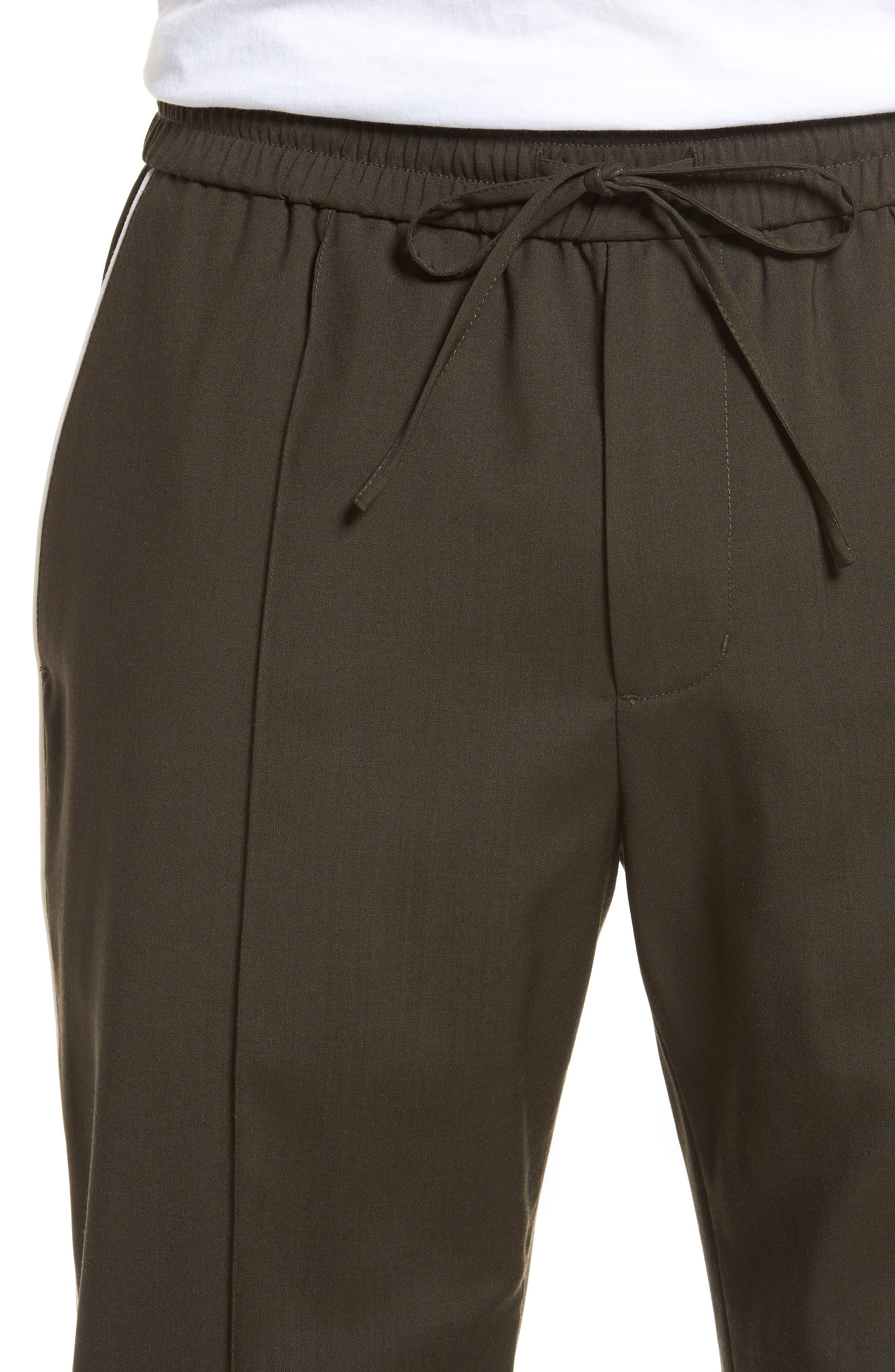 Regular Fit Track Pants,                             Alternate thumbnail 4, color,                             Fatigue