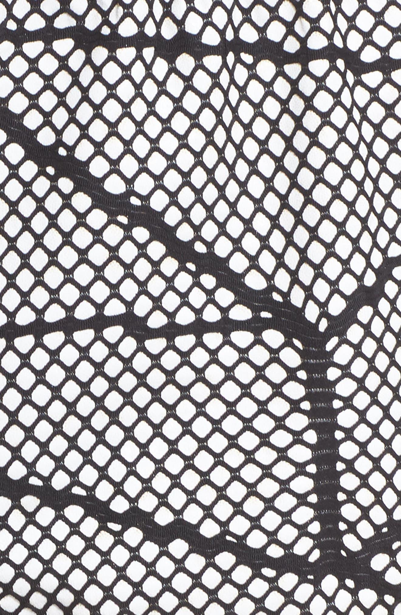 Chromatic Shorts,                             Alternate thumbnail 6, color,                             Cr5048 Black-White Chromatic
