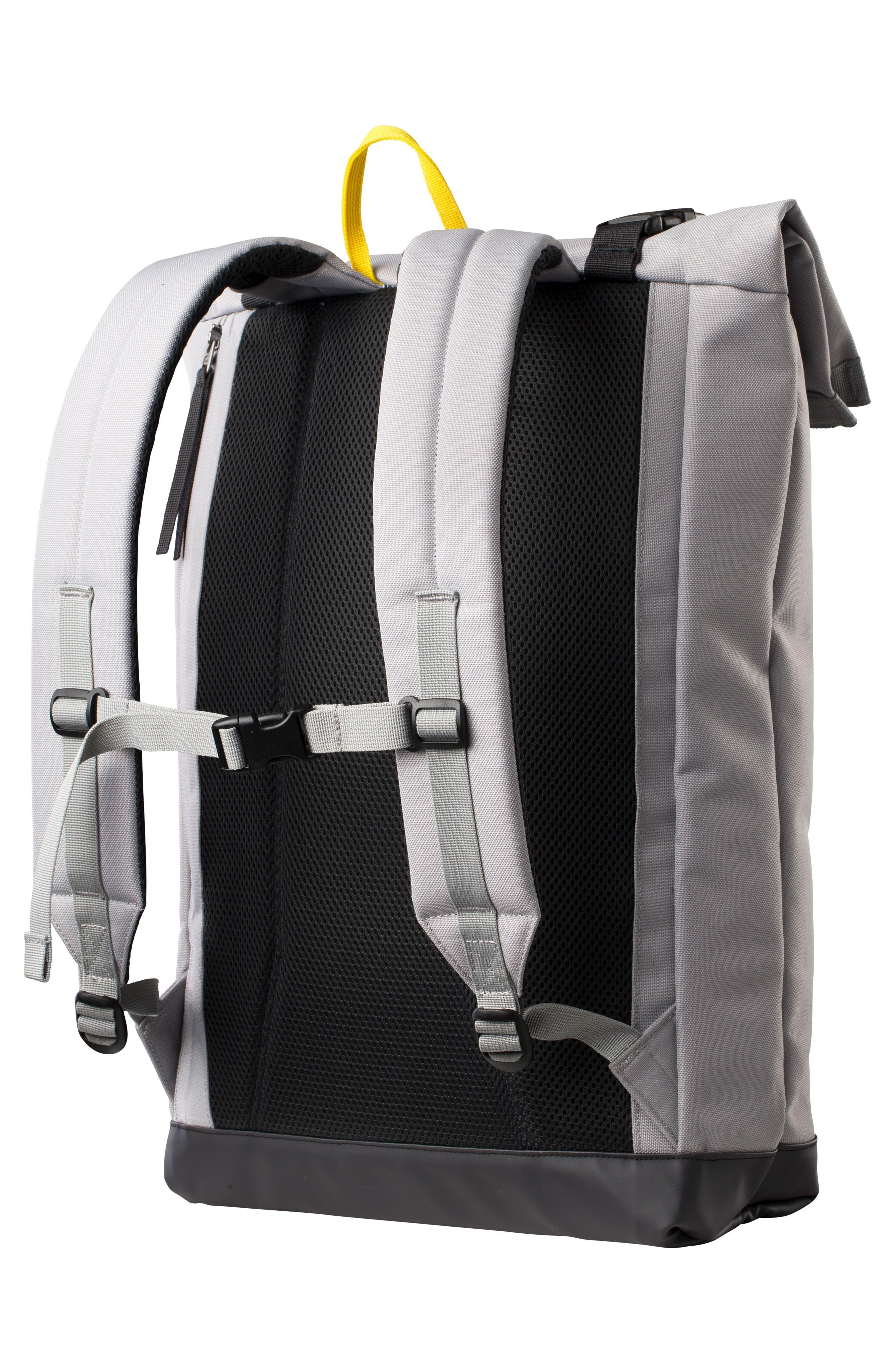 Stockholm Backpack,                             Alternate thumbnail 2, color,                             Silver Grey