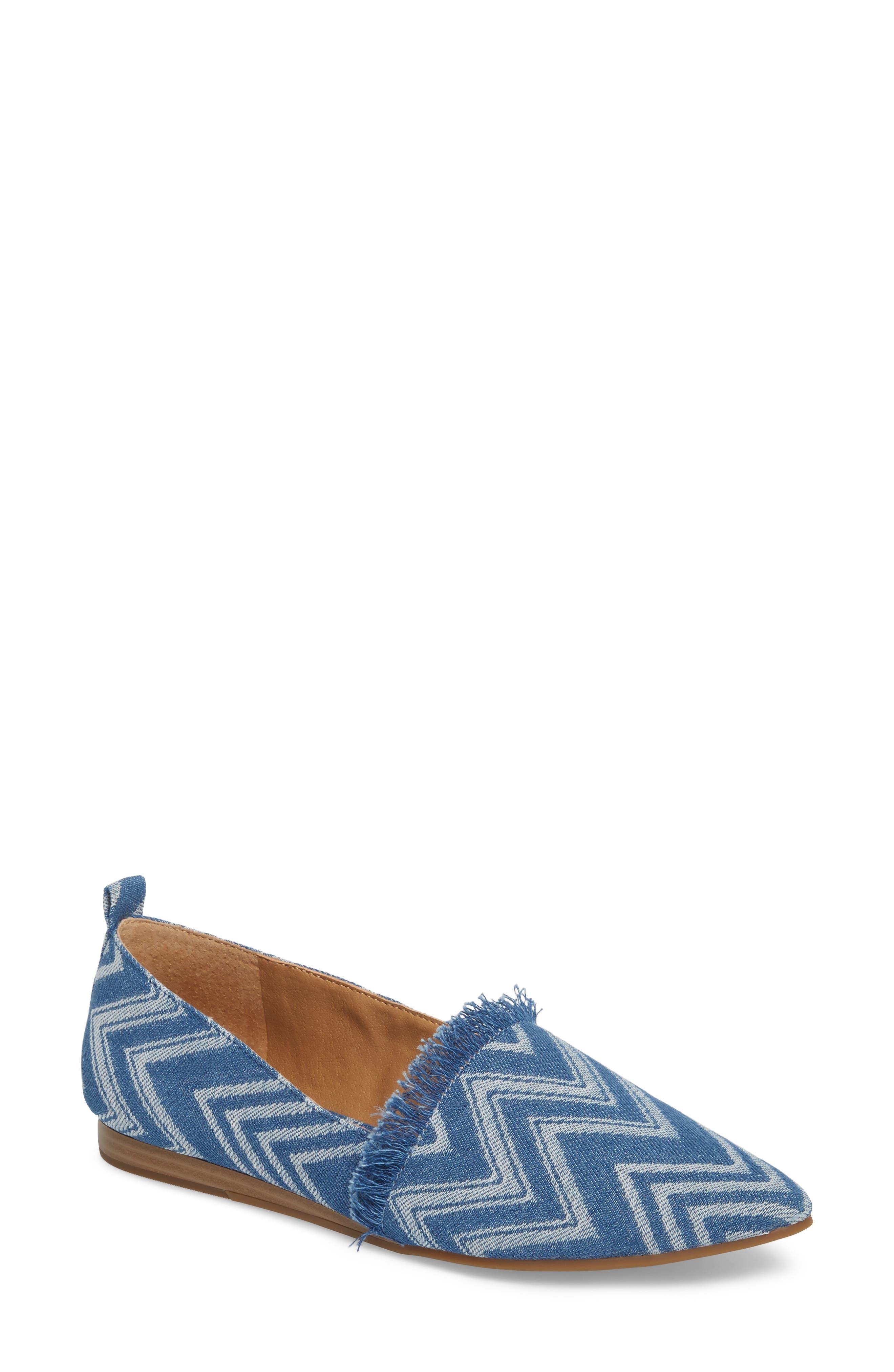 Alternate Image 1 Selected - Lucky Brand Beechmer Pointy Toe Flat (Women)