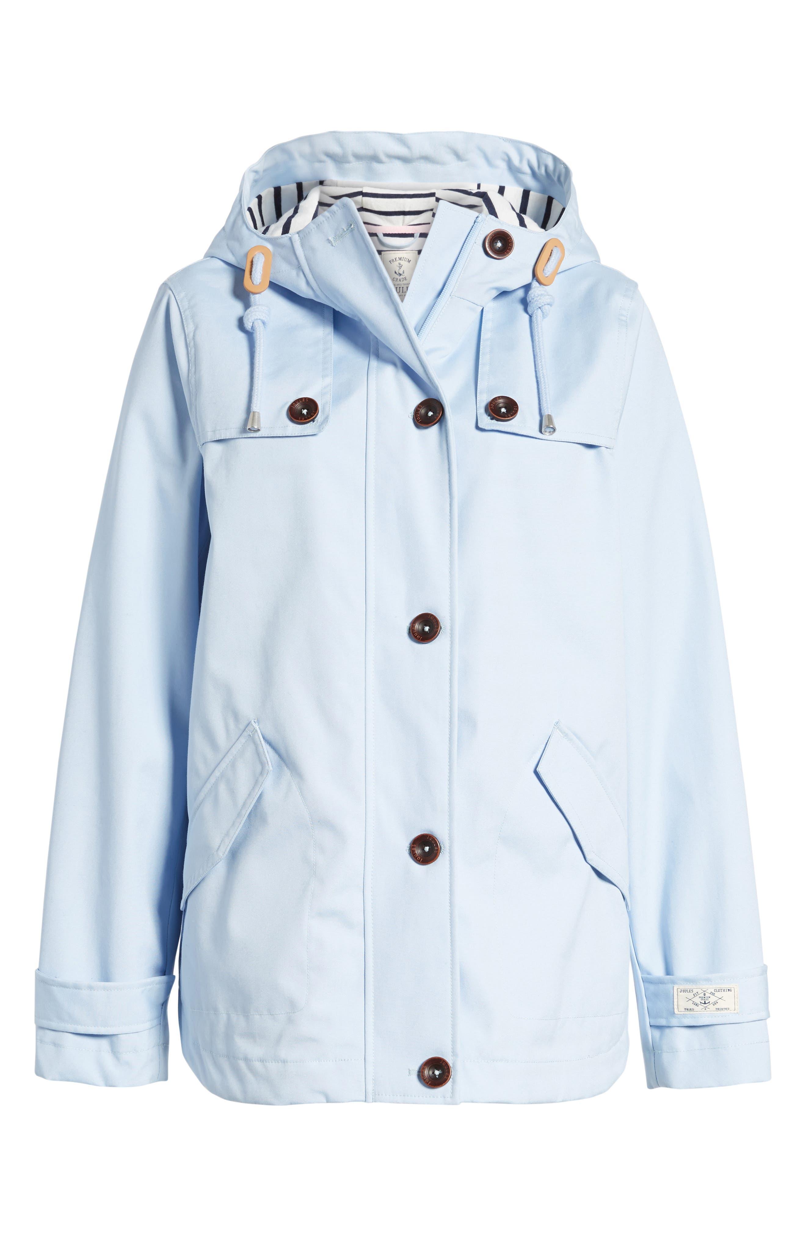 Alternate Image 6  - Joules Right as Rain Waterproof Hooded Jacket