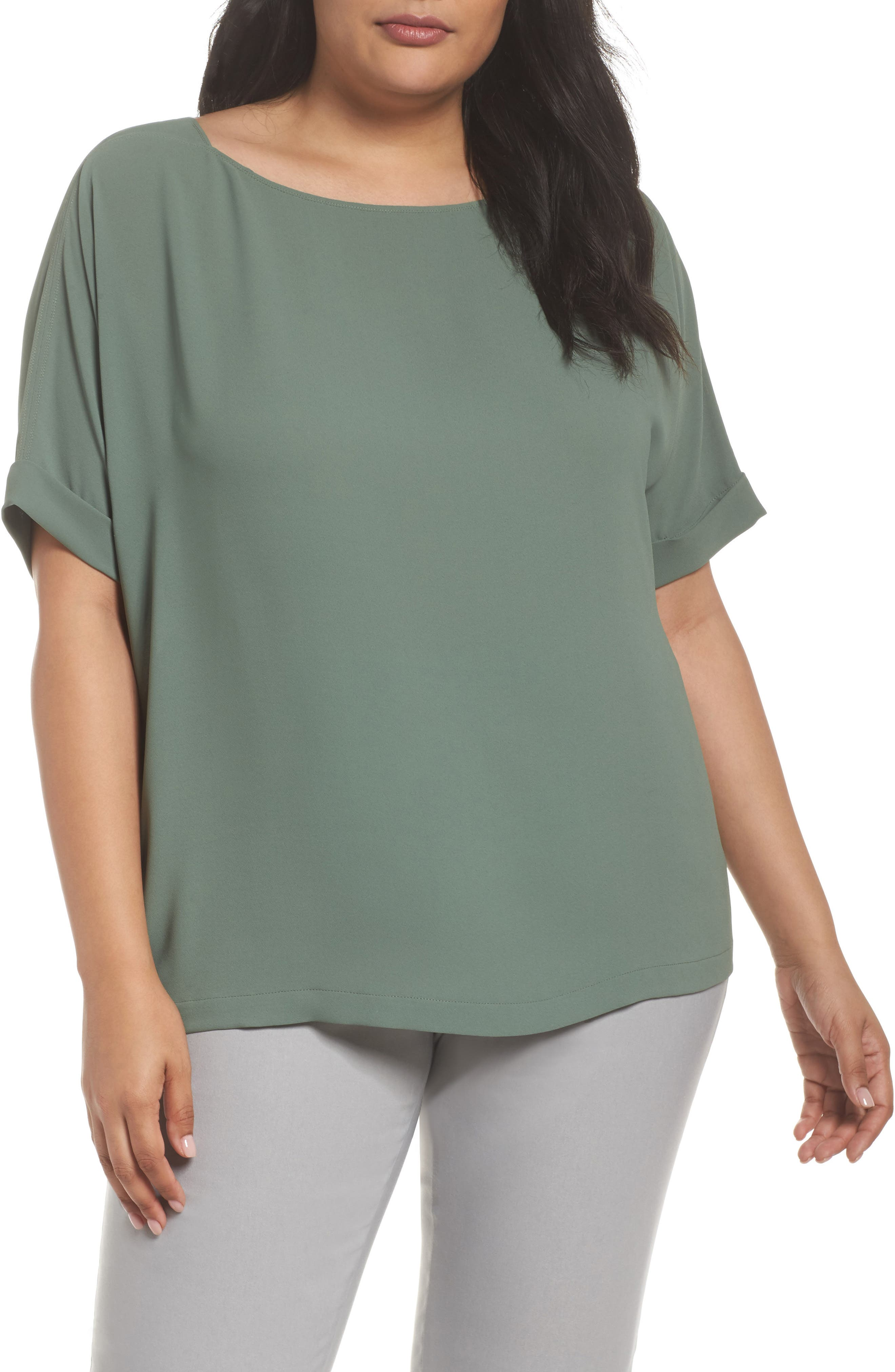 Moroccan Tee,                         Main,                         color, Spring Moss