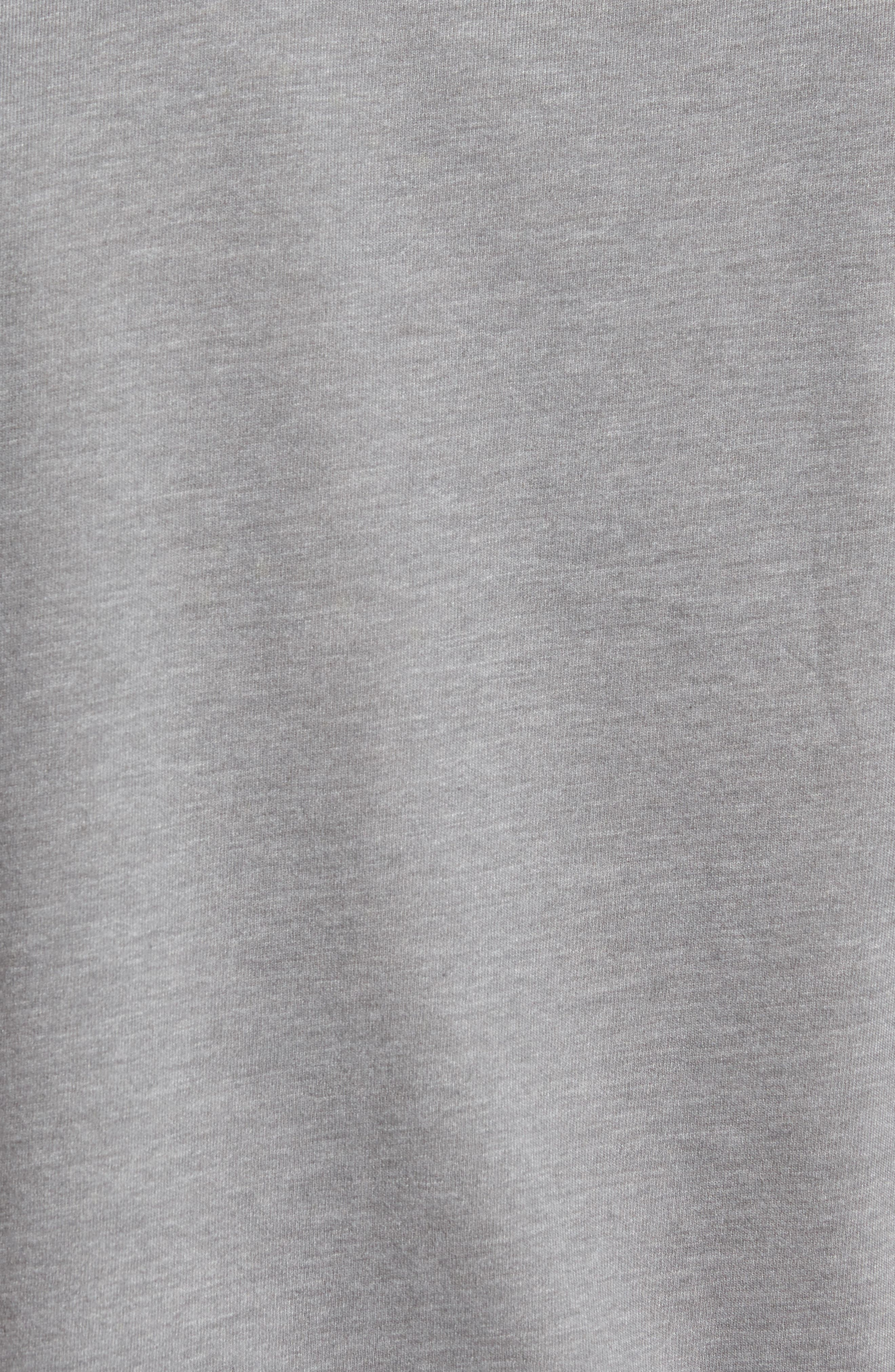 Chappy Doo Pocket T-Shirt,                             Alternate thumbnail 5, color,                             Heather Grey