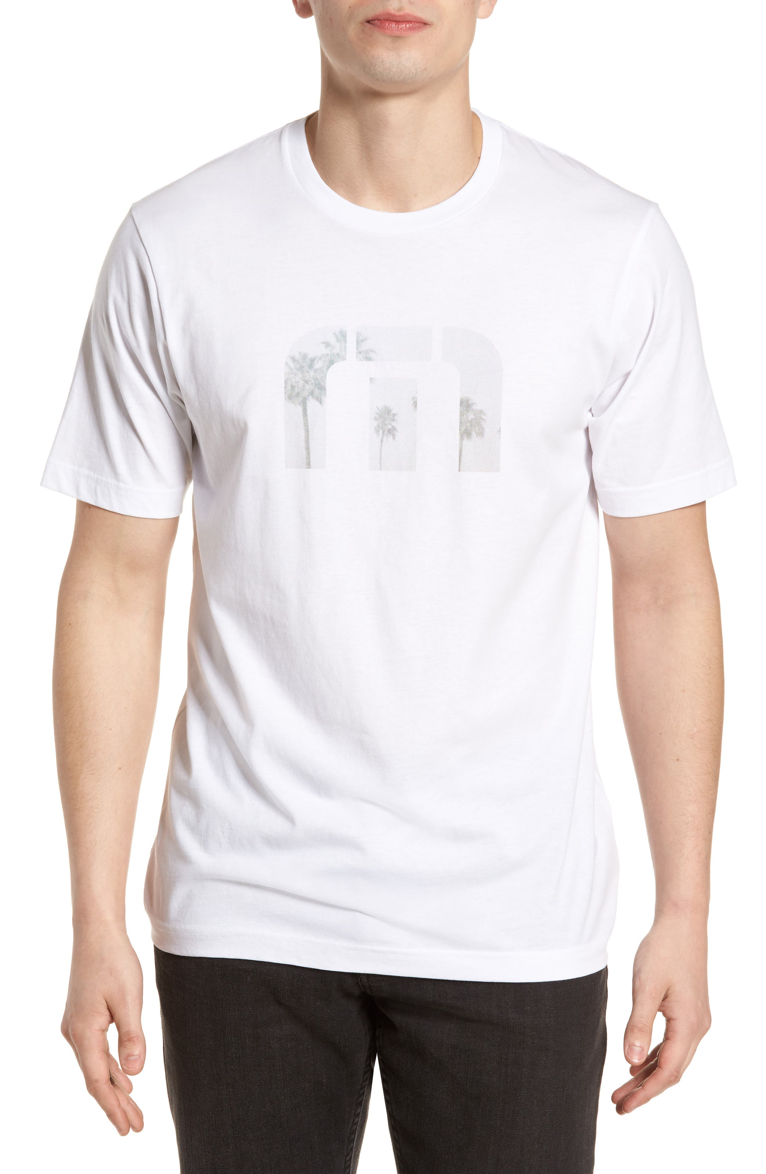 Windy Vibes Graphic T-Shirt,                             Main thumbnail 1, color,                             White