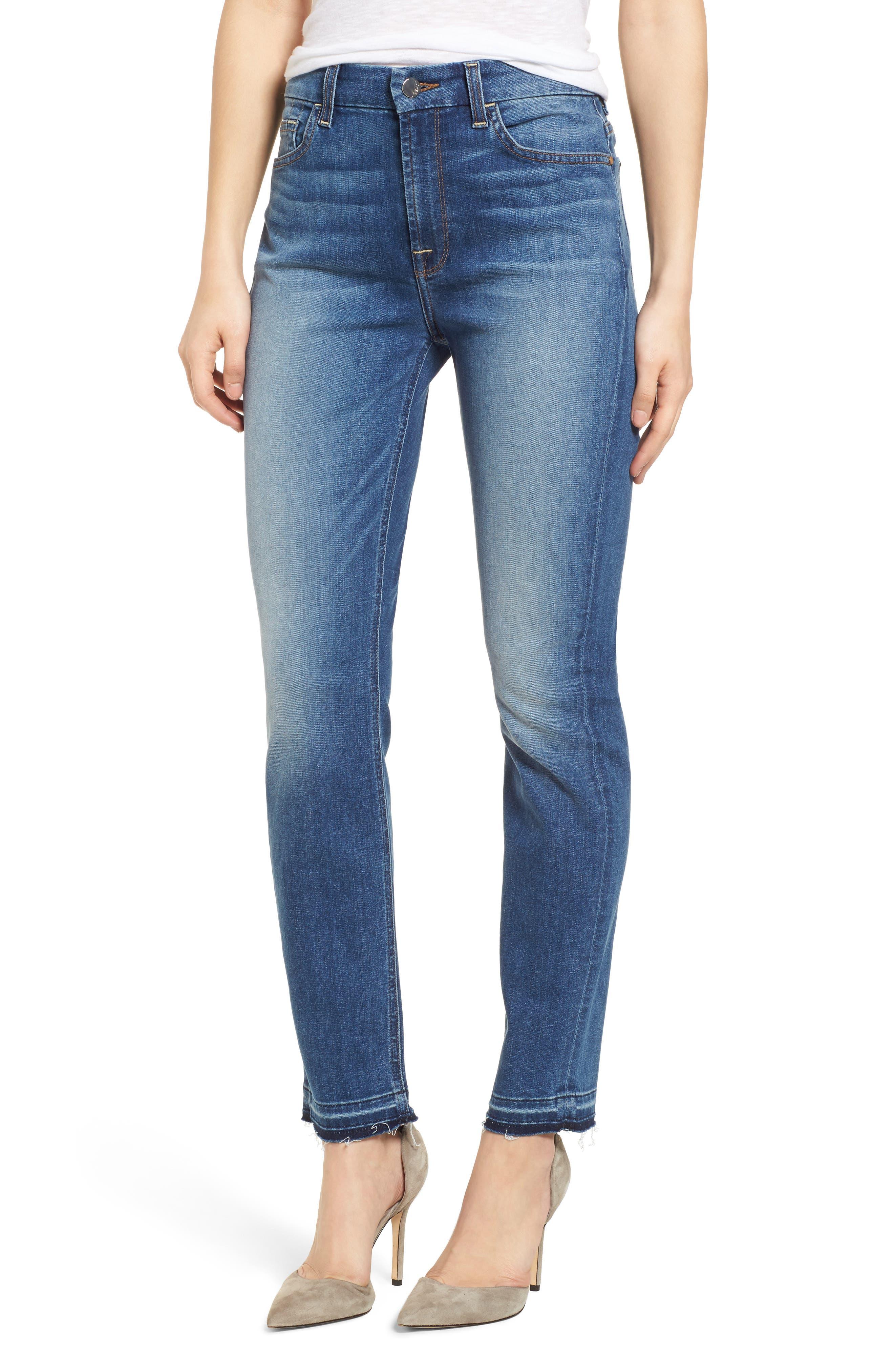 Release Hem Ankle Skinny Jeans,                         Main,                         color, Garden City