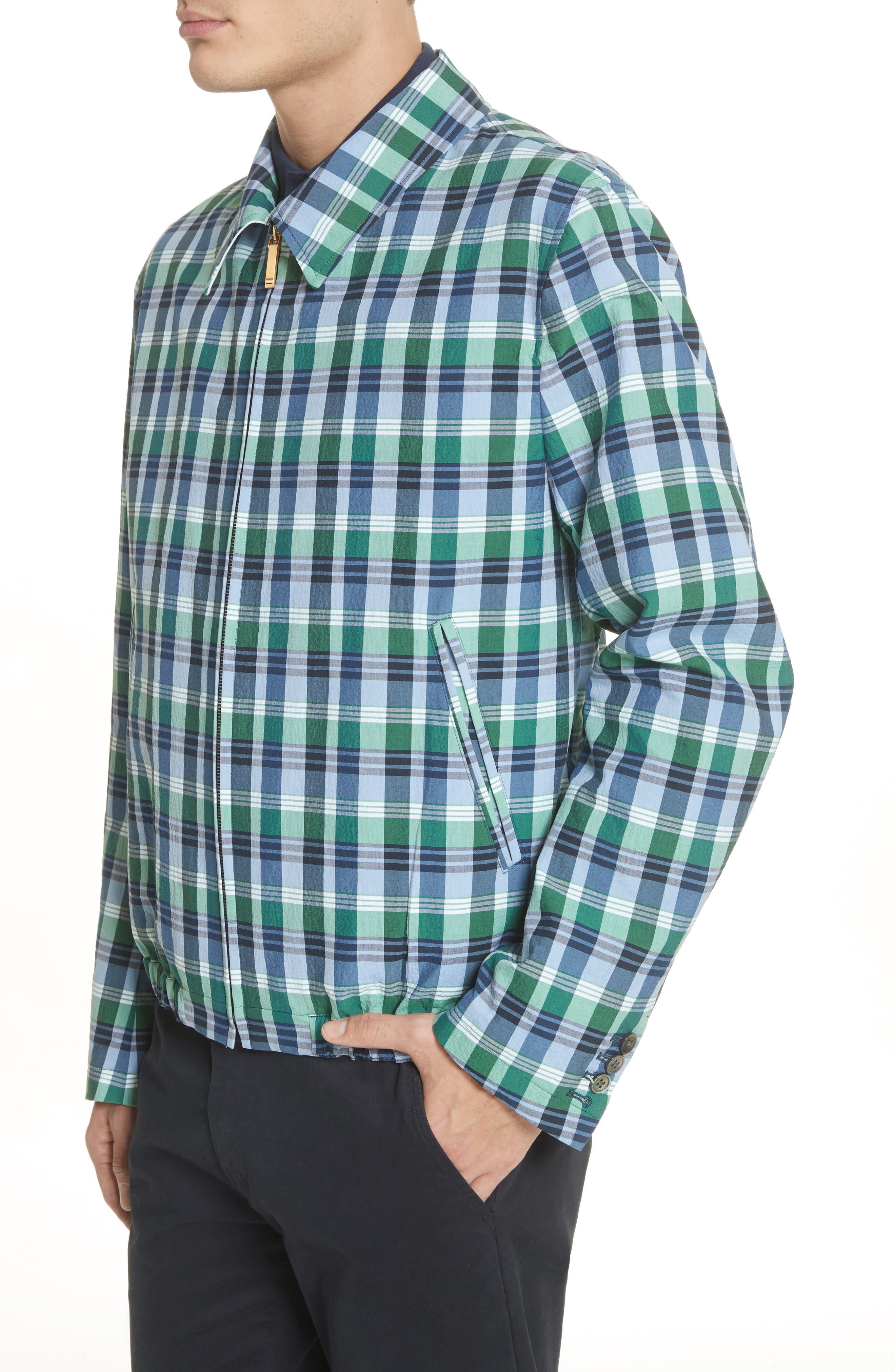 Alternate Image 4  - Thom Browne Plaid Jacket