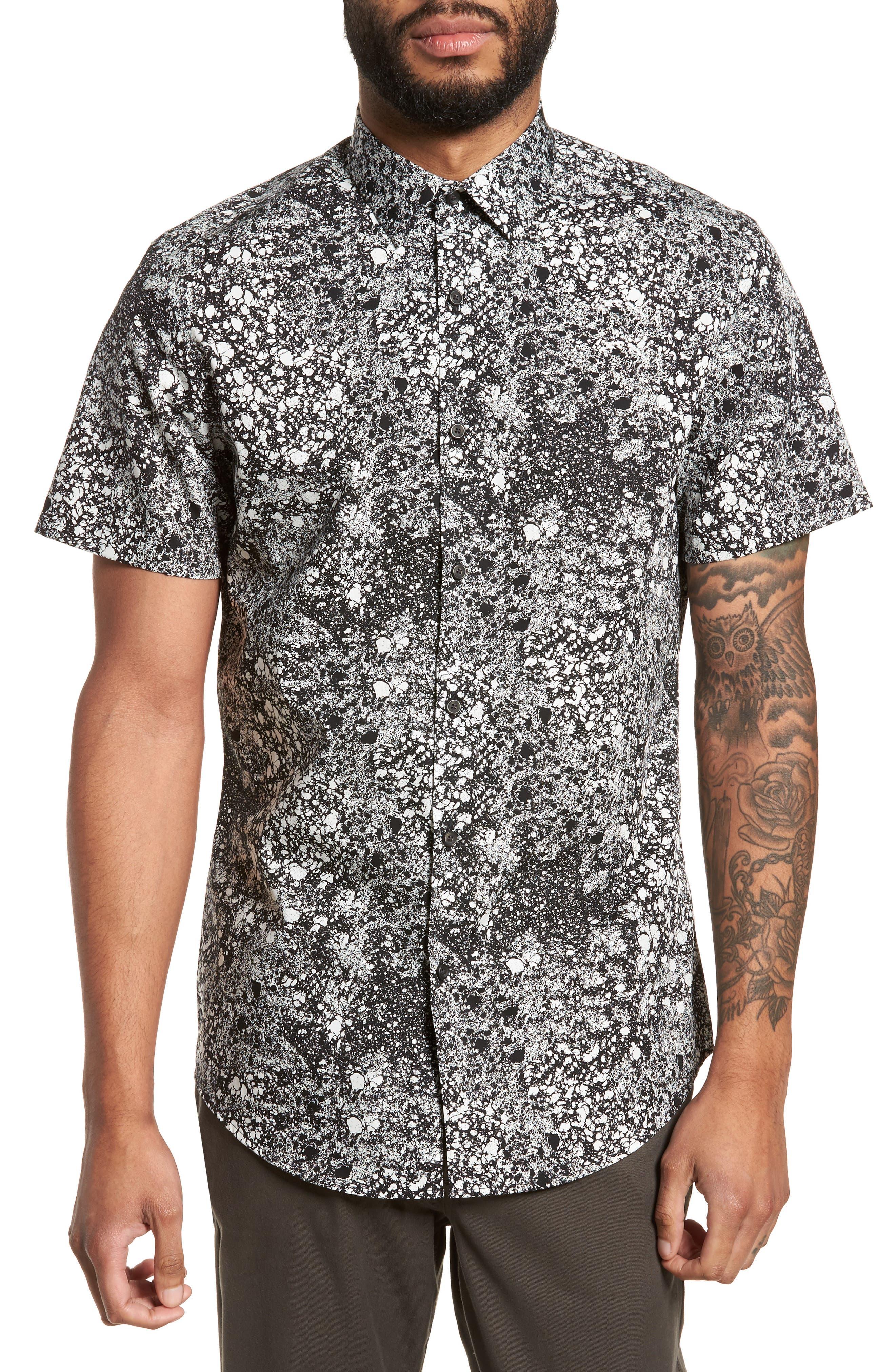 Calibrate Print Sport Shirt