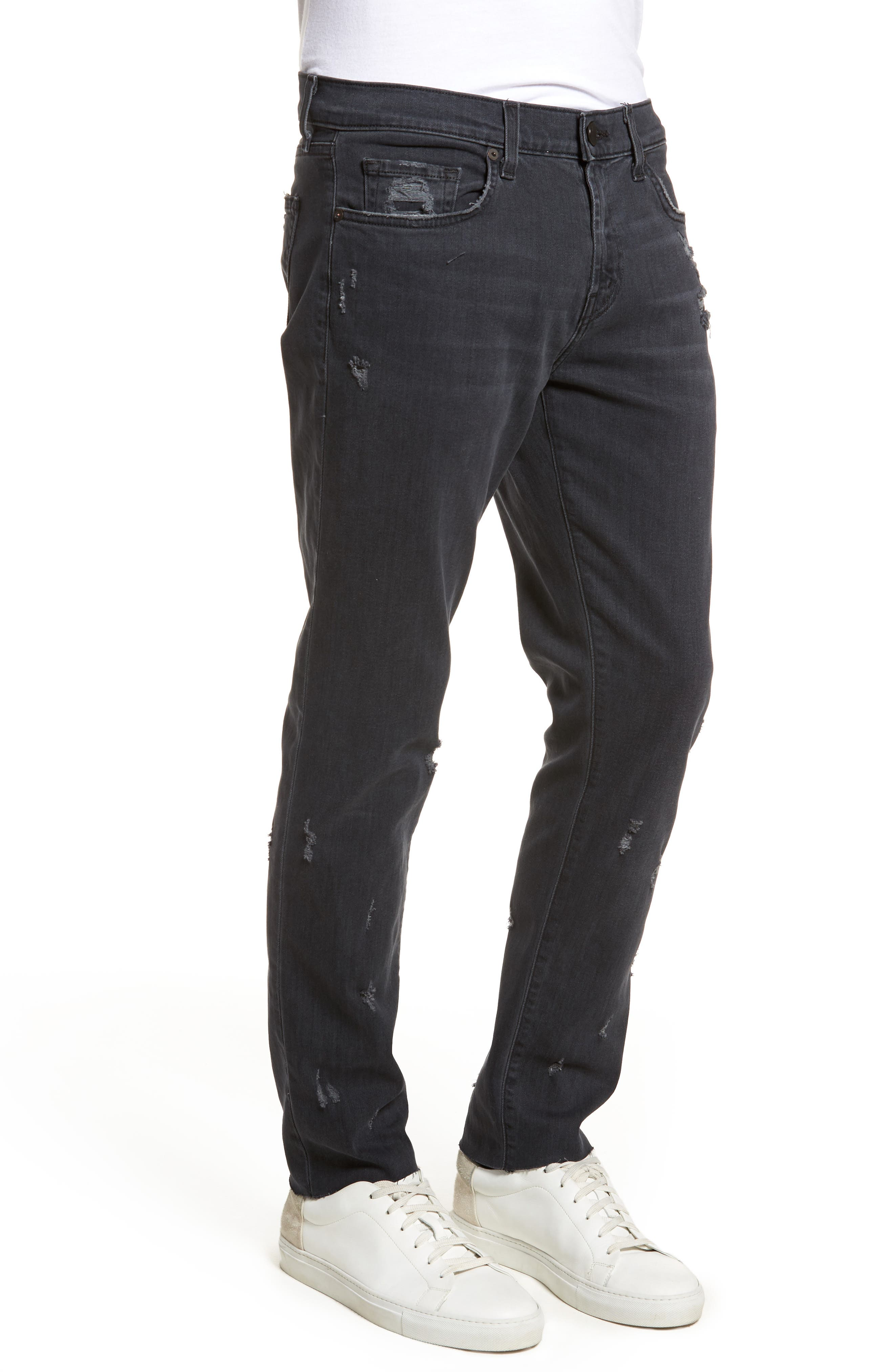Tyler Slim Fit Jeans,                             Alternate thumbnail 3, color,                             Glauconite