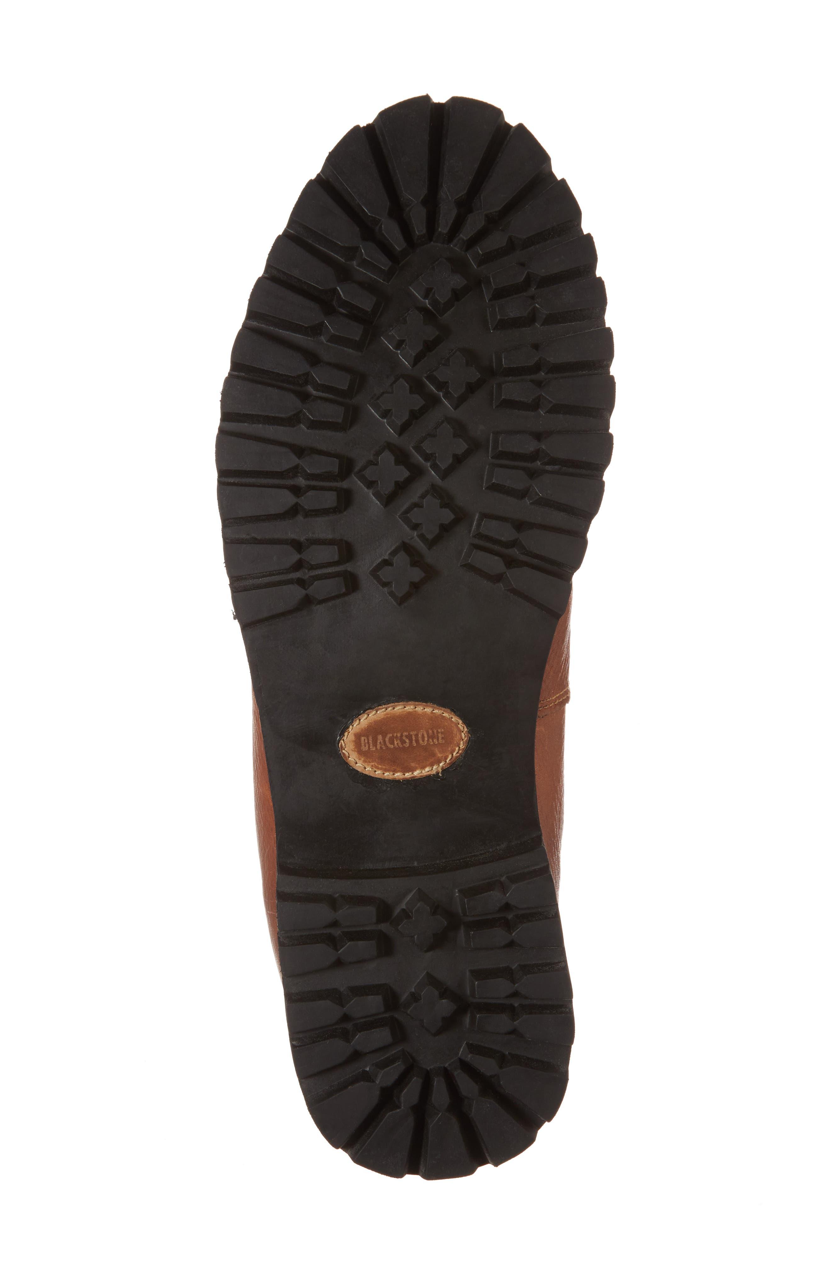 Alternate Image 6  - Blackstone IM 12 Plain Toe Boot with Genuine Shearling (Men)