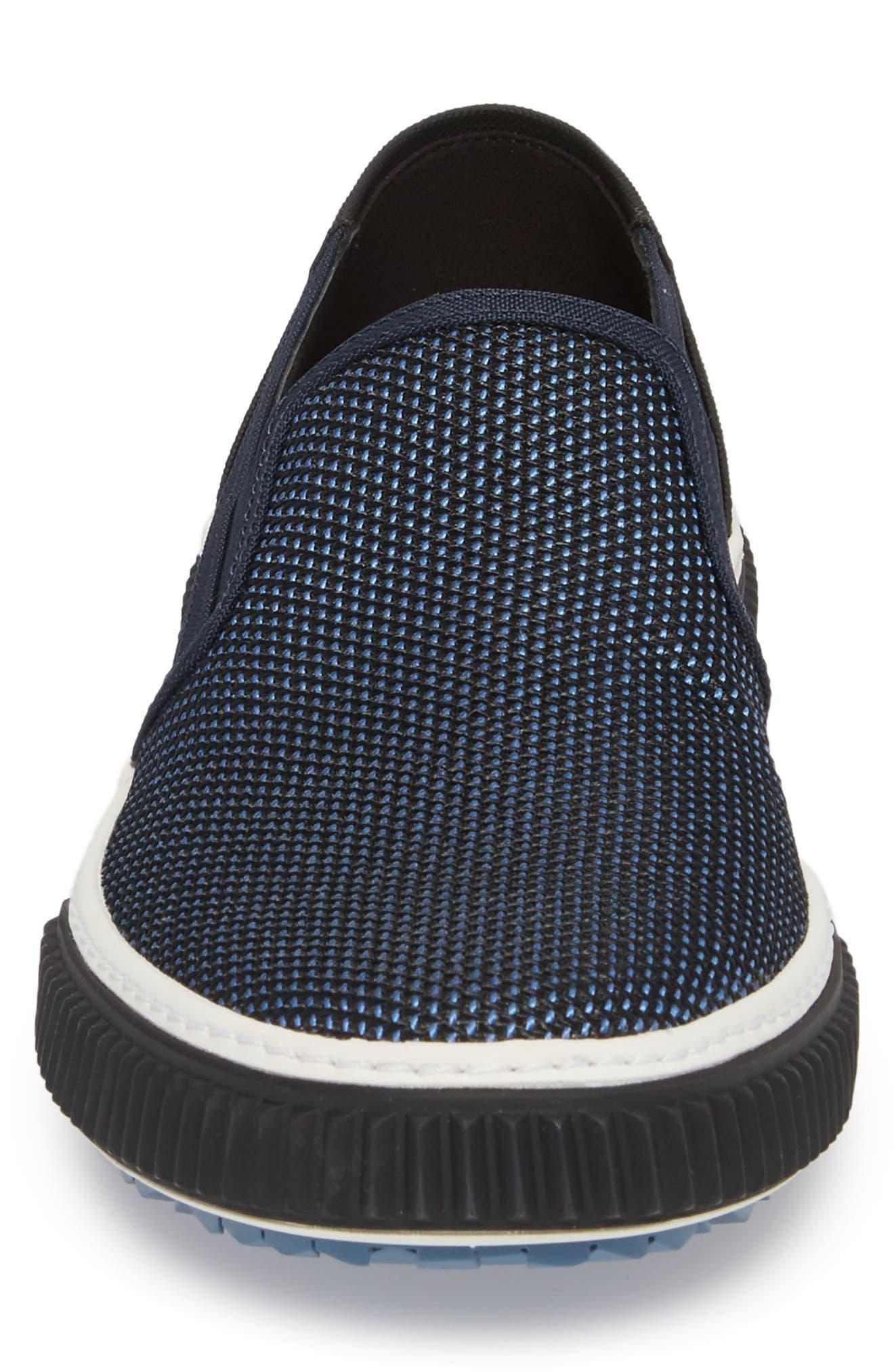 Linea Rossa Skate Slip-On,                             Alternate thumbnail 4, color,                             Baltic Blue