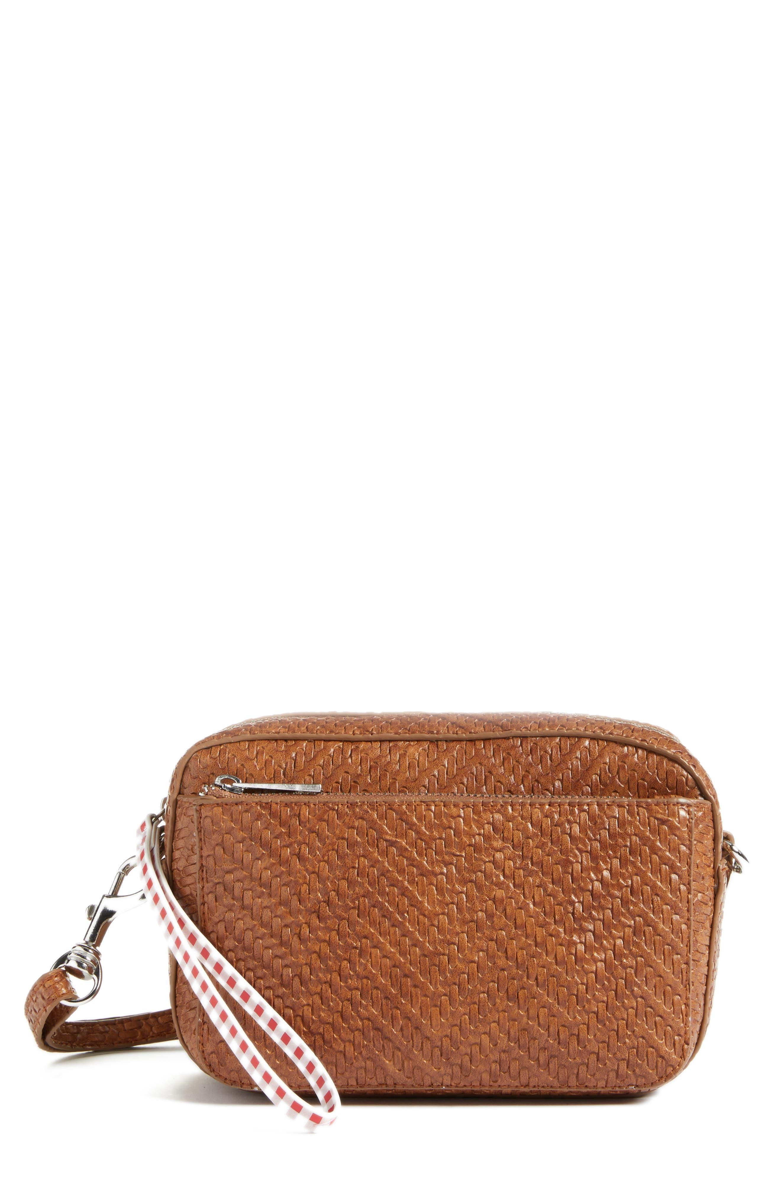 BP. Woven Crossbody Bag