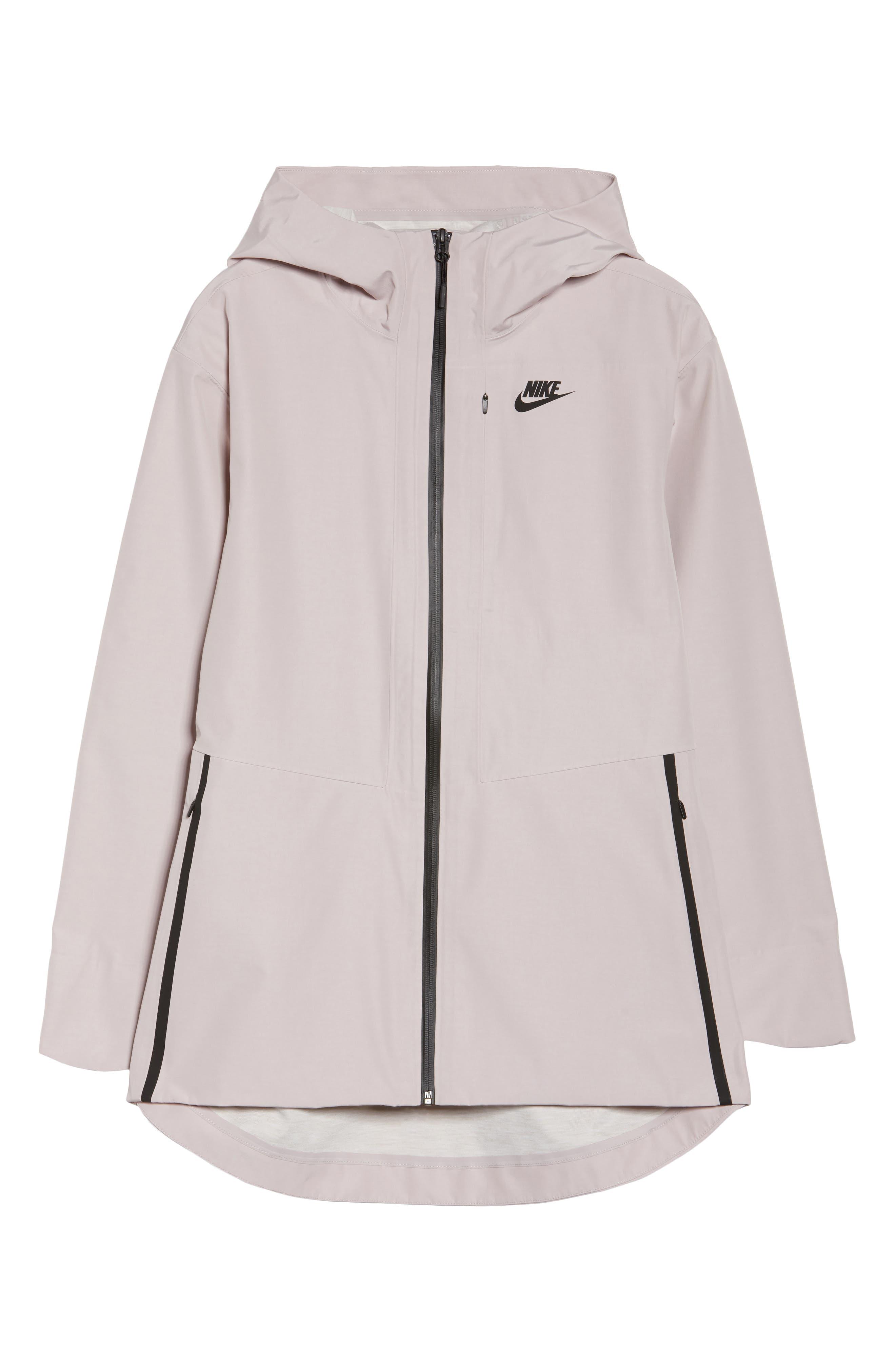 Sportswear Women's Tech Jacket,                             Alternate thumbnail 6, color,                             Particle Rose/ Black