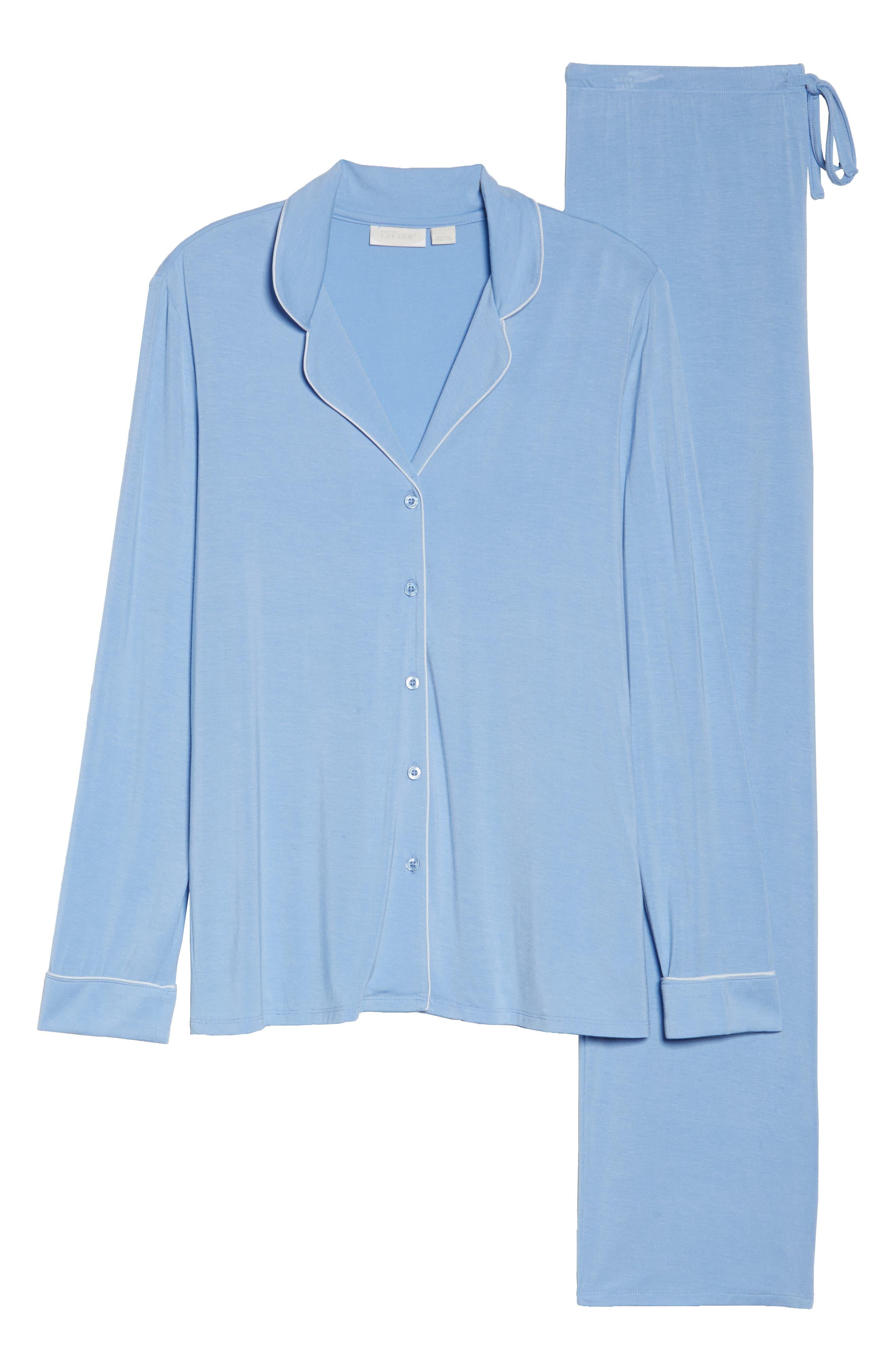 Alternate Image 4  - Nordstrom Lingerie Moonlight Pajamas