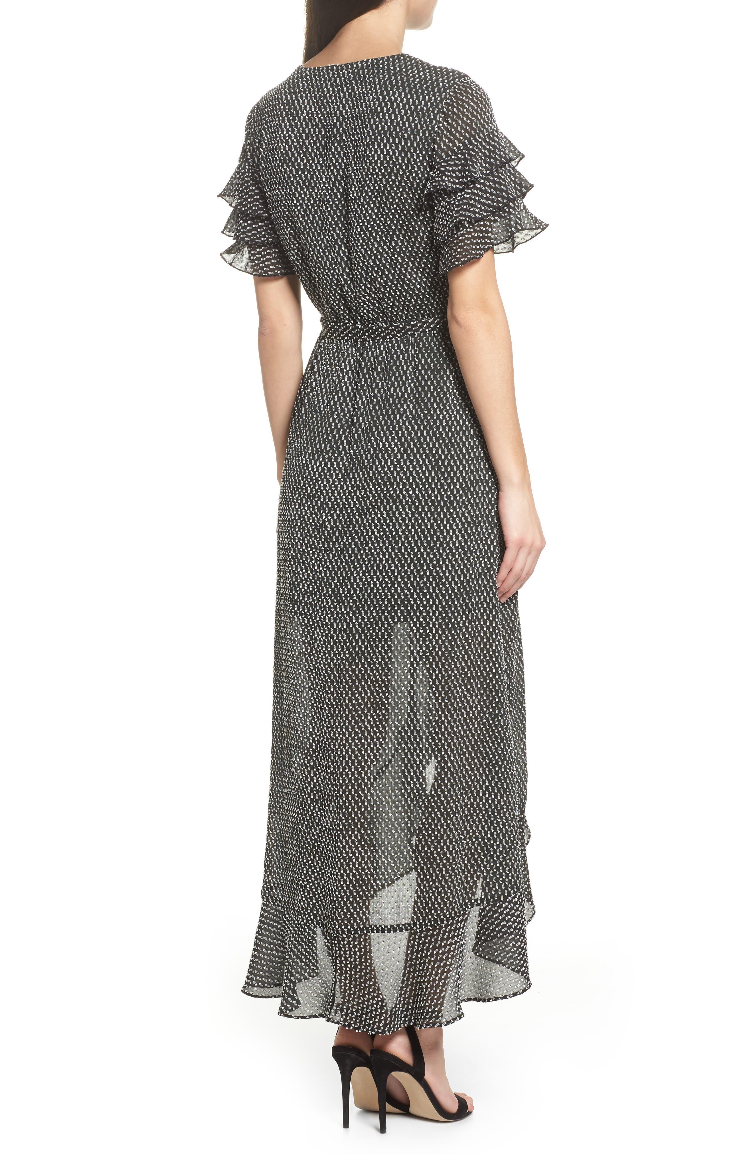Alternate Image 3  - Ali & Jay YOLO Ruffle Wrap Dress