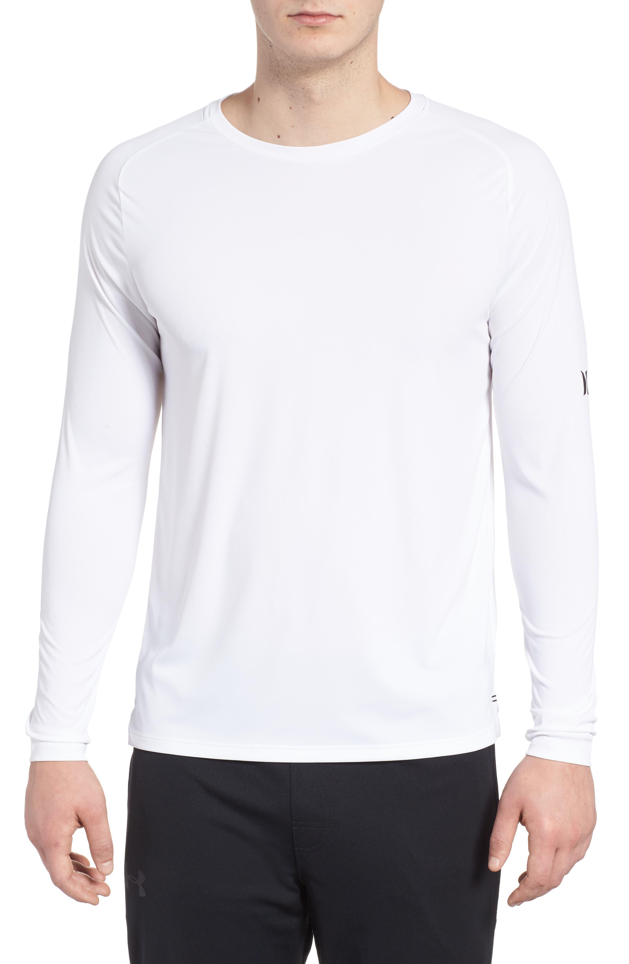 Icon Surf Shirt,                             Main thumbnail 1, color,                             White