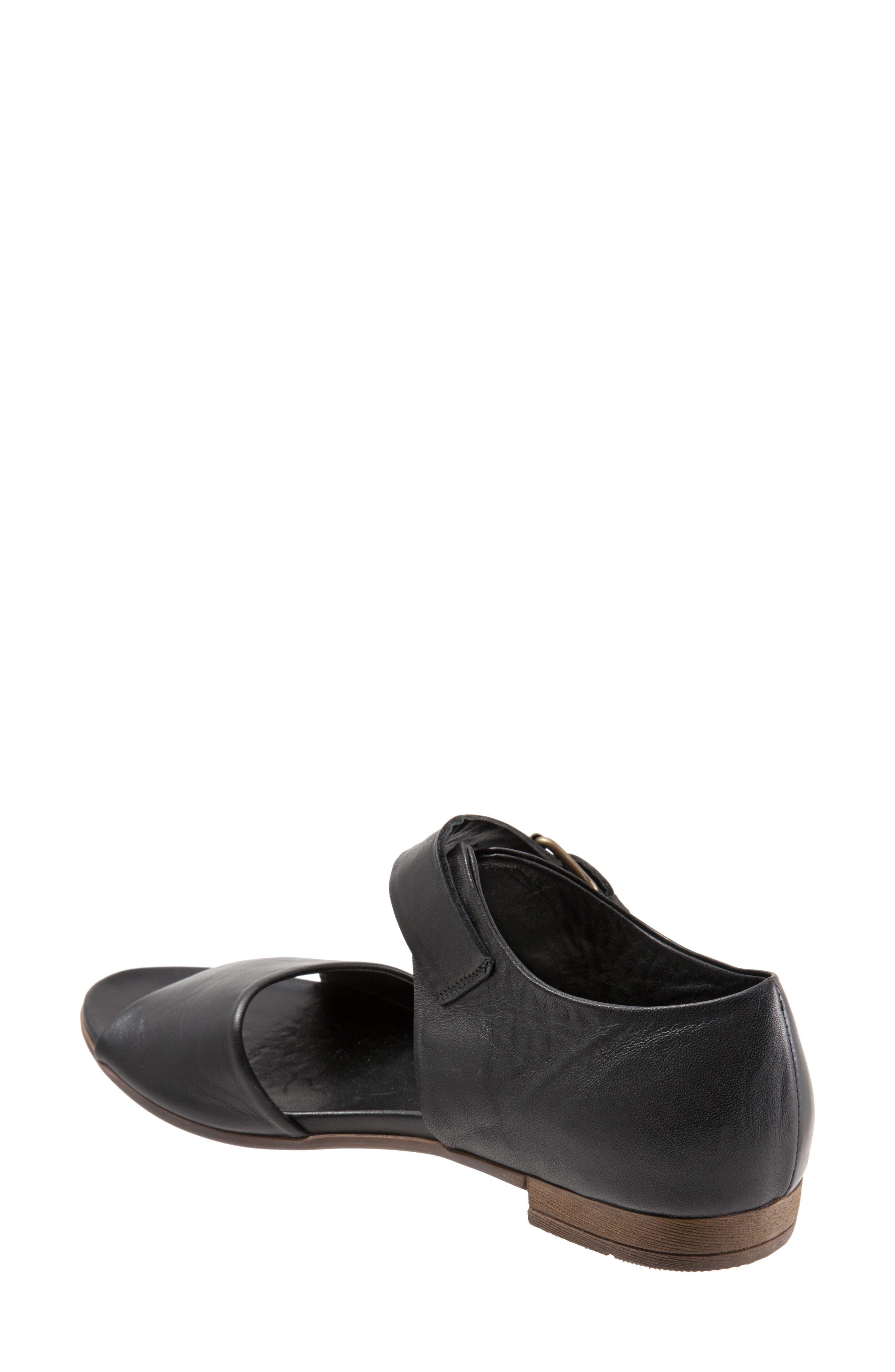 Talia Sandal,                             Alternate thumbnail 2, color,                             Black Leather