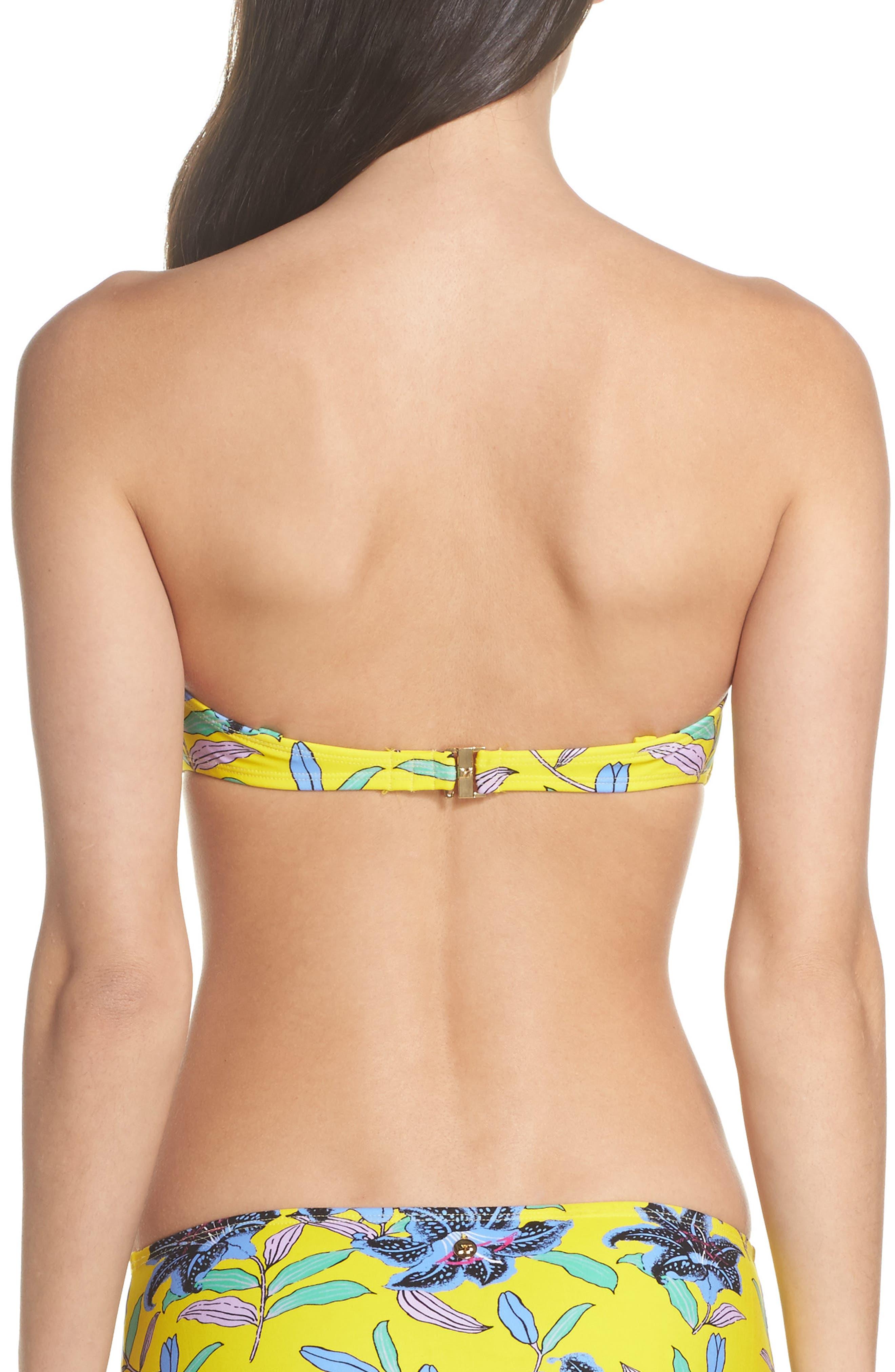 Alternate Image 2  - Diane von Furstenberg Strapless Bikini Top