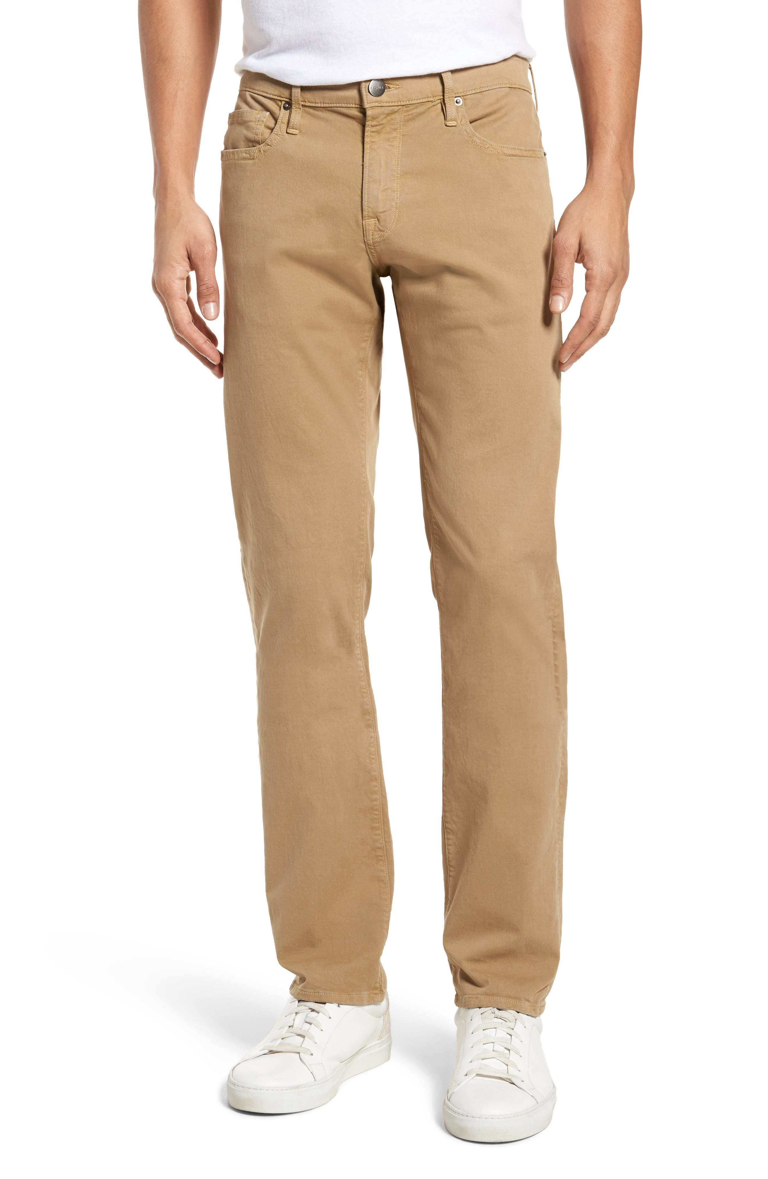 Homme Slim Fit Chino Pants,                         Main,                         color, Khaki