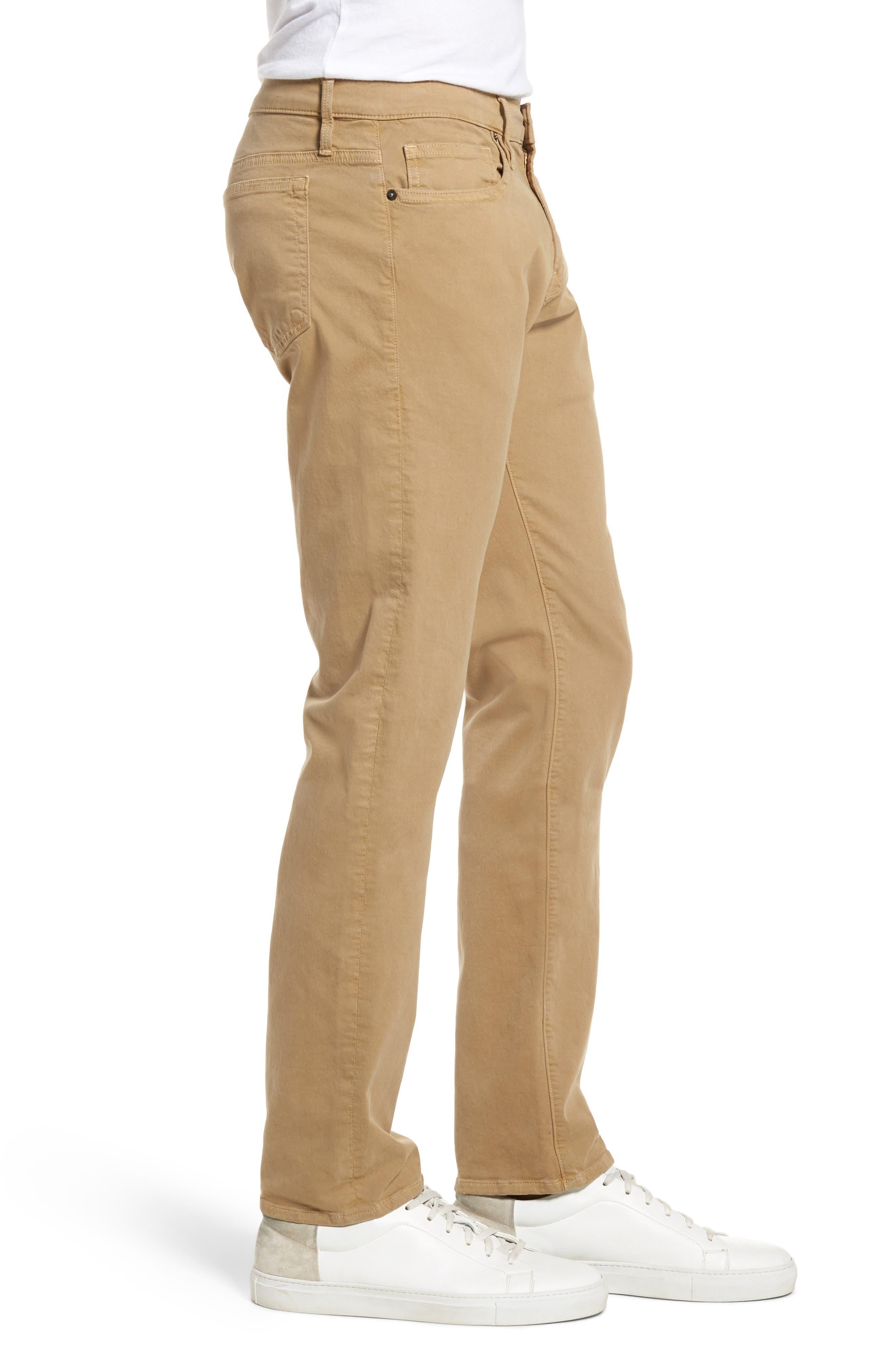 Homme Slim Fit Chino Pants,                             Alternate thumbnail 3, color,                             Khaki