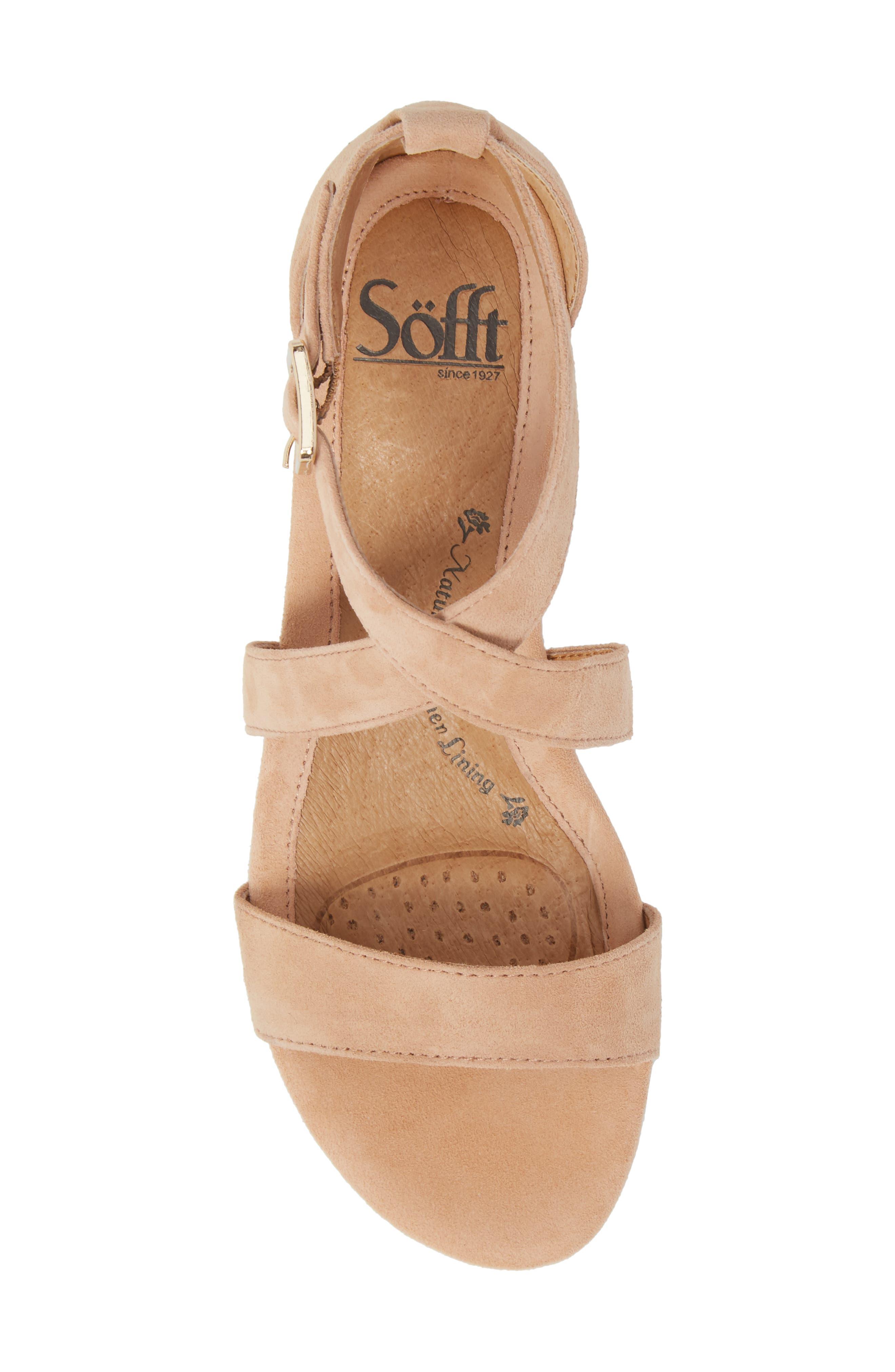 Alternate Image 5  - Söfft 'Innis' Low Wedge Sandal (Women)