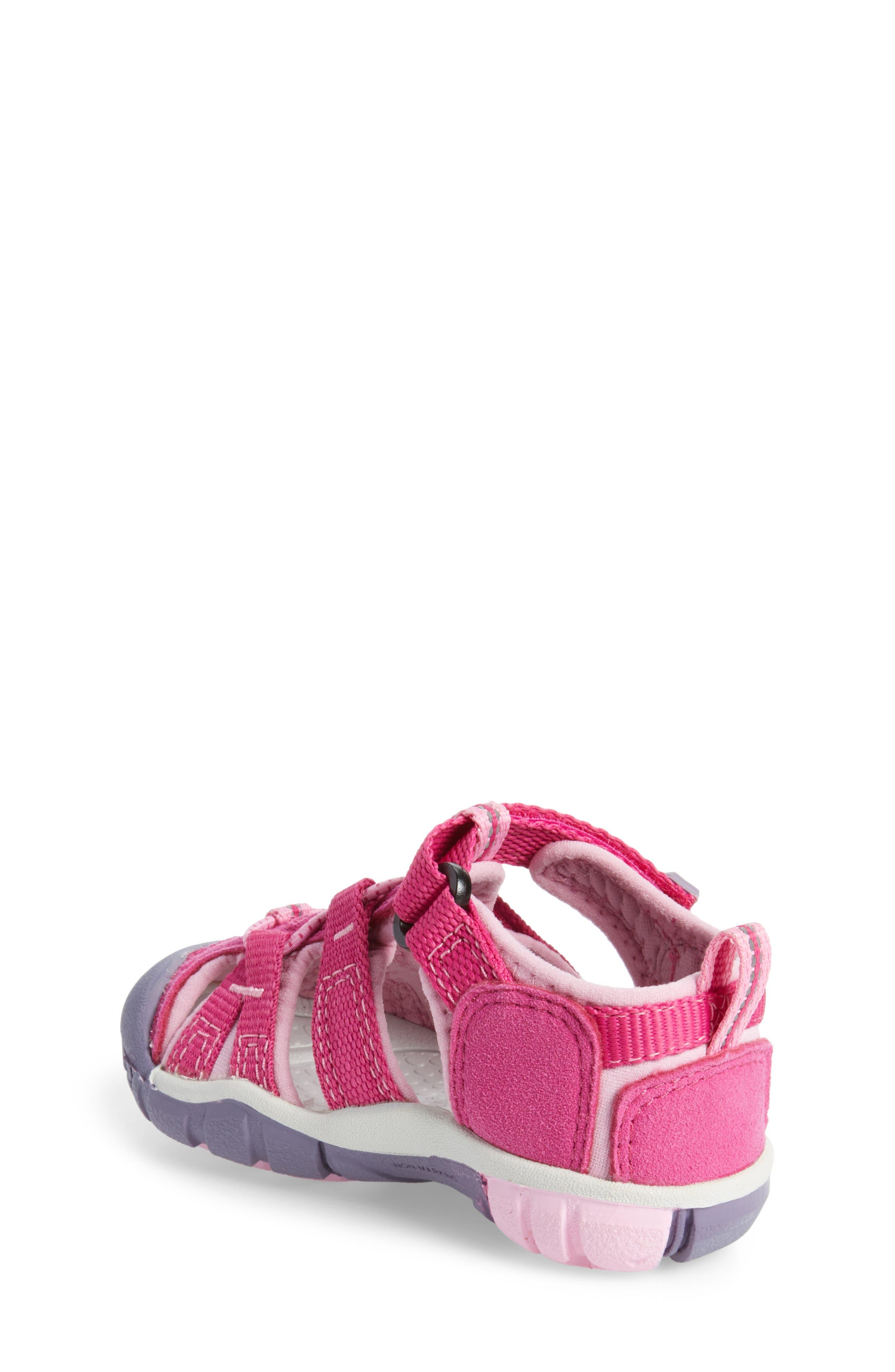 'Seacamp II' Water Friendly Sandal,                             Alternate thumbnail 2, color,                             Very Berry/ Lilac Chiffon