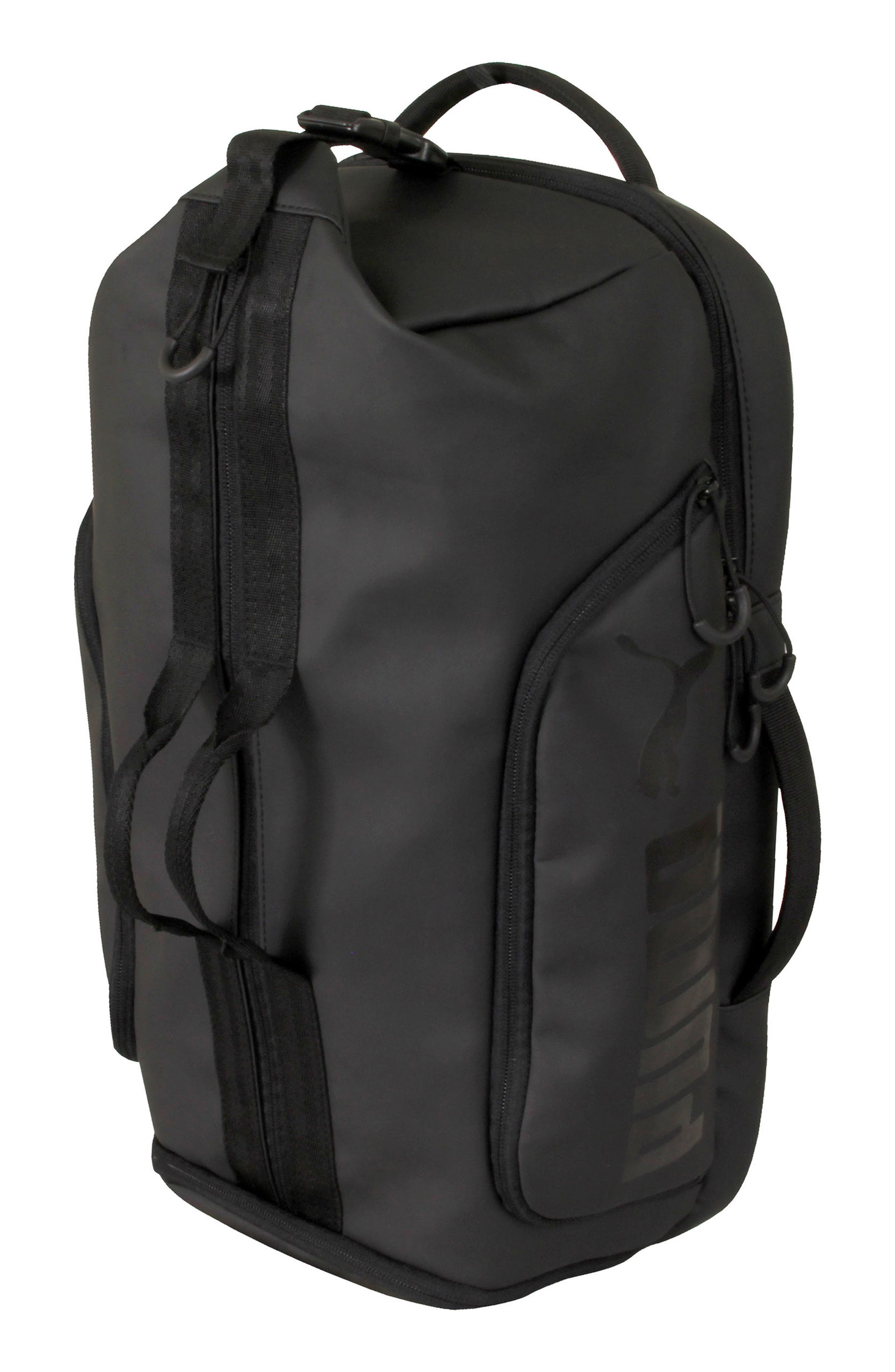 The Protocol Hybrid Duffel Backpack,                         Main,                         color, Black