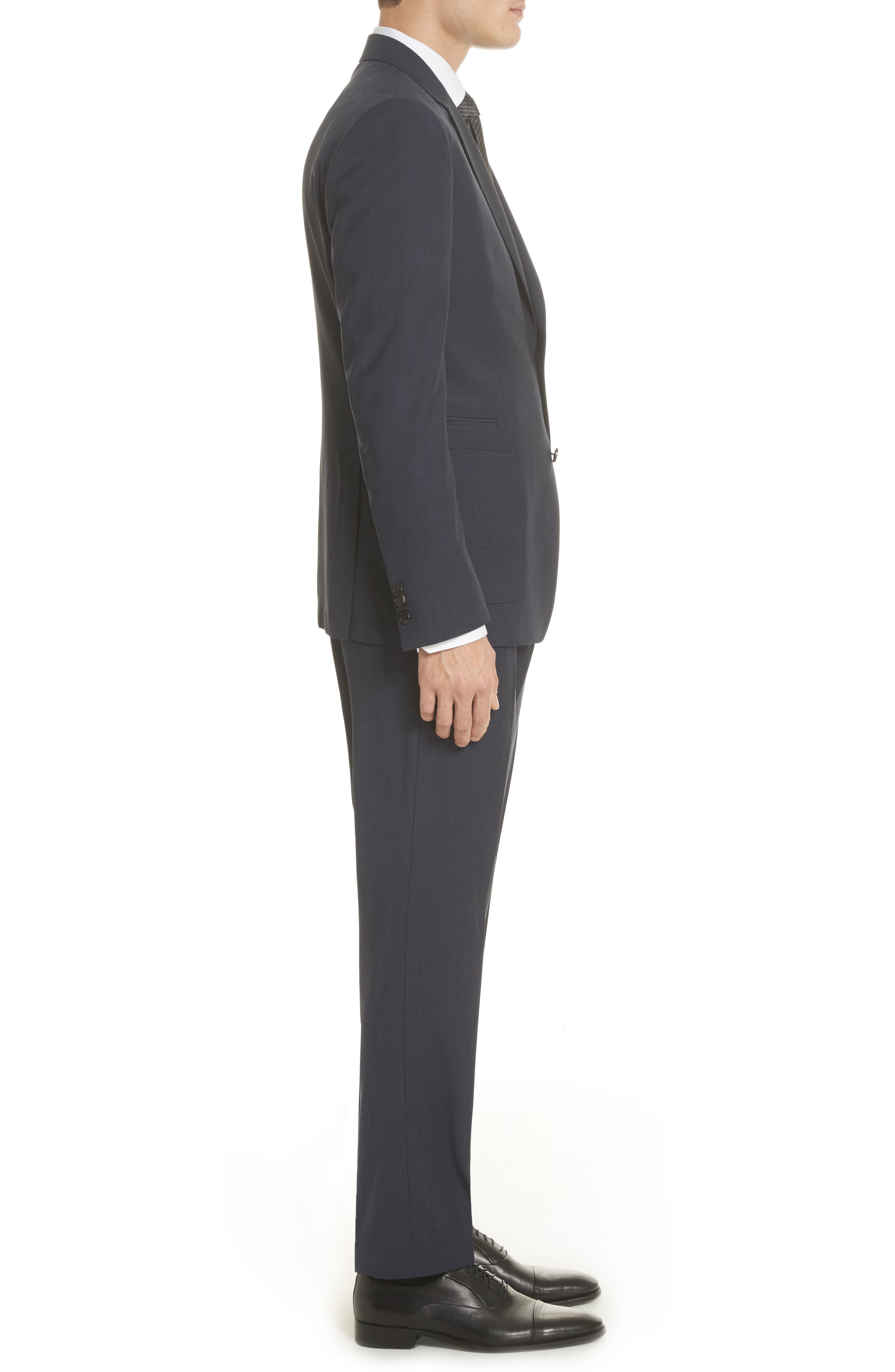 Alternate Image 3  - Z Zegna TECHMERINO™ Wash & Go Trim Fit Solid Wool Suit