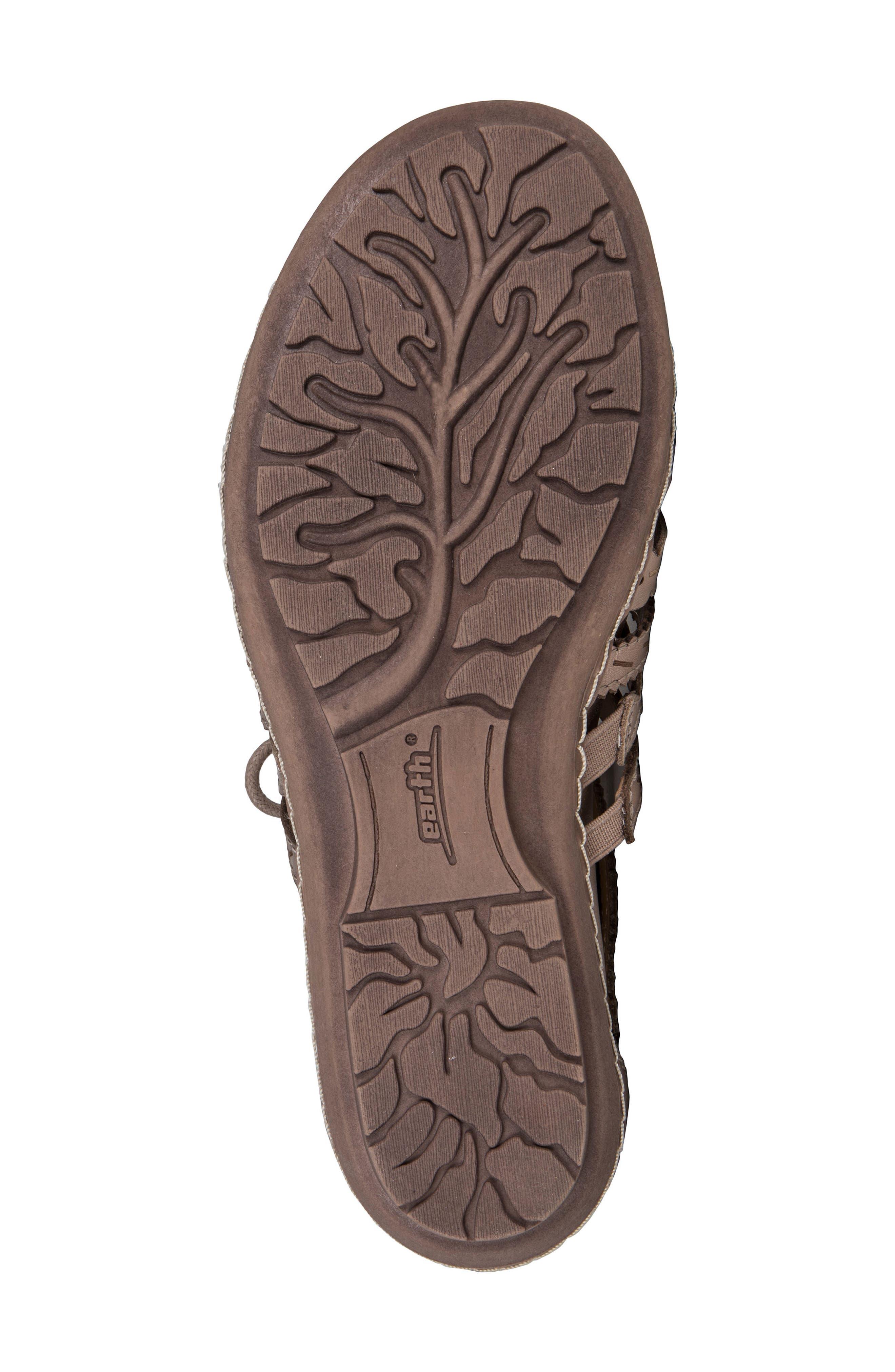 Tidal Mid Top Ghillie Sandal,                             Alternate thumbnail 5, color,                             Titanium Leather