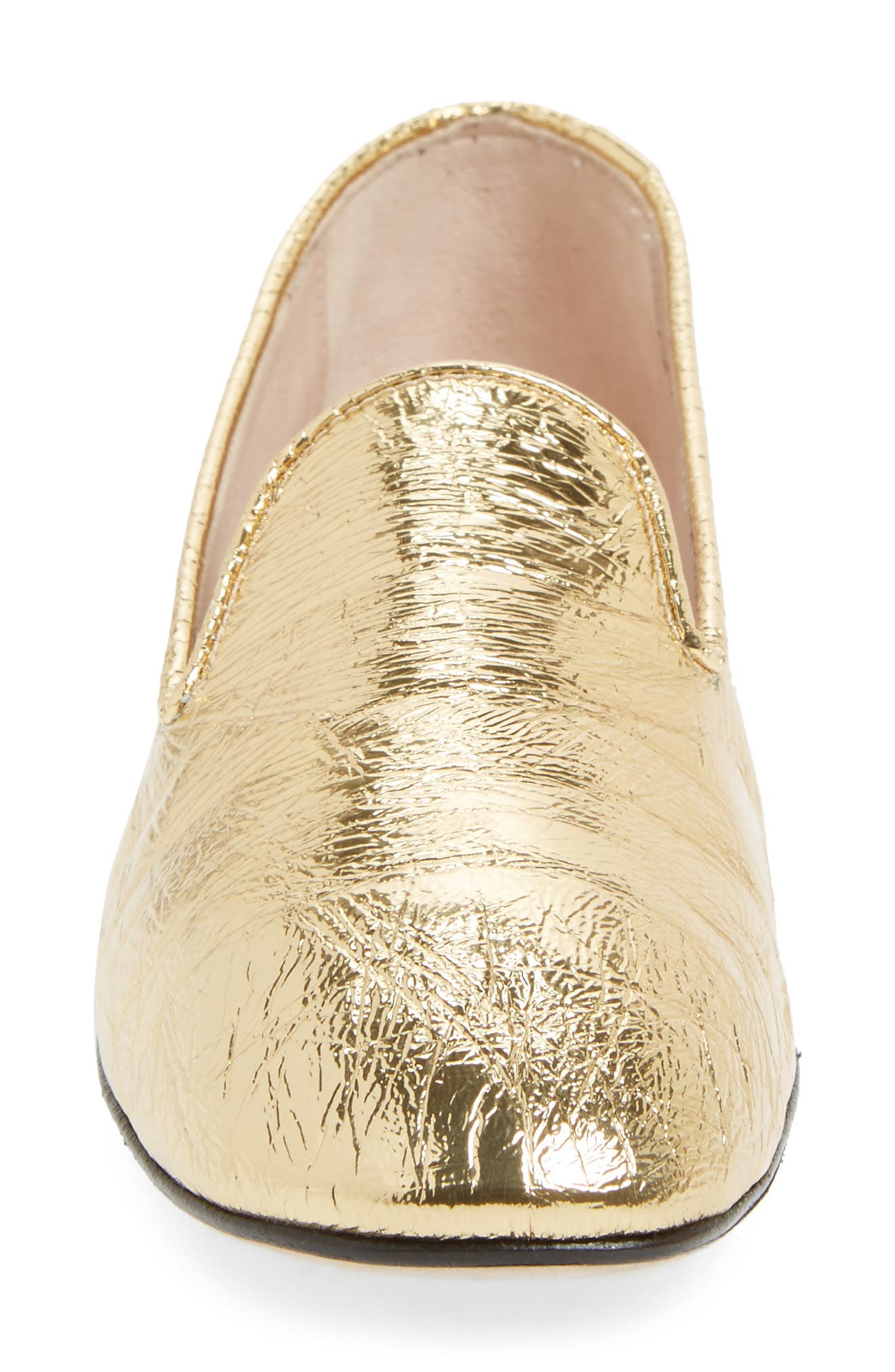 Myguy Venetian Loafer,                             Alternate thumbnail 4, color,                             Gold Look
