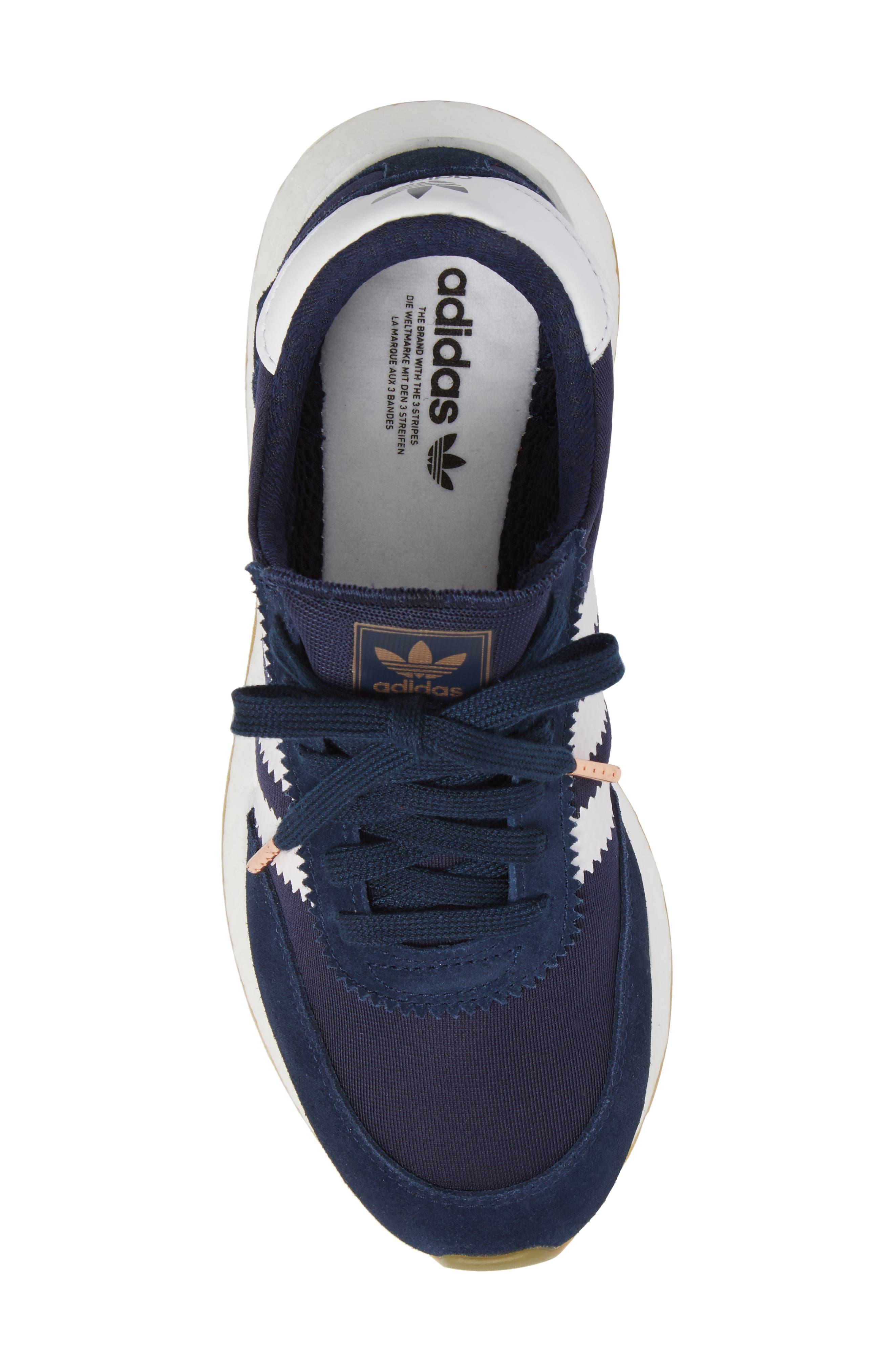 I-5923 Sneaker,                             Alternate thumbnail 5, color,                             Navy/ White/ Gum