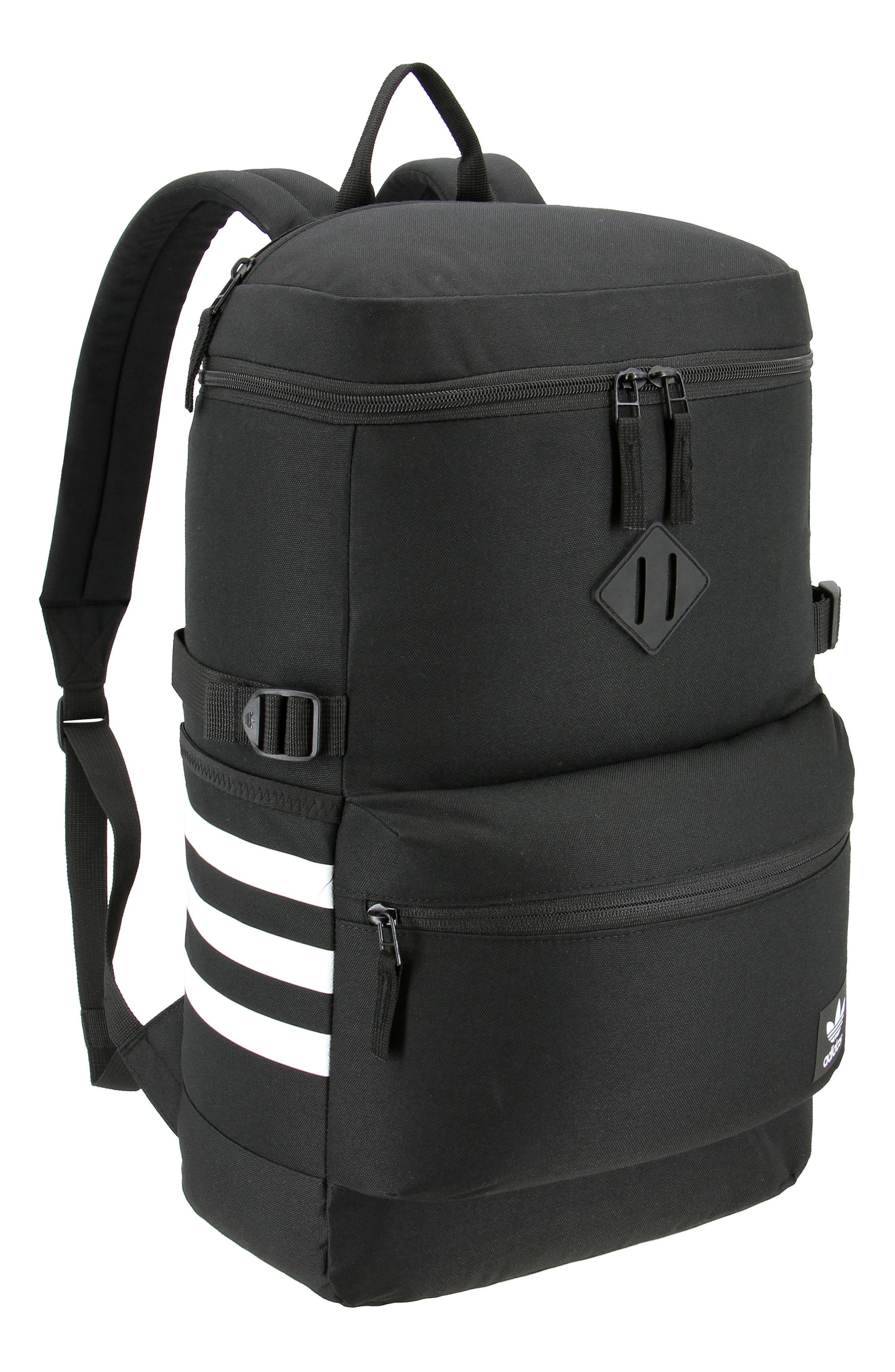 Backpack,                             Main thumbnail 1, color,                             Black