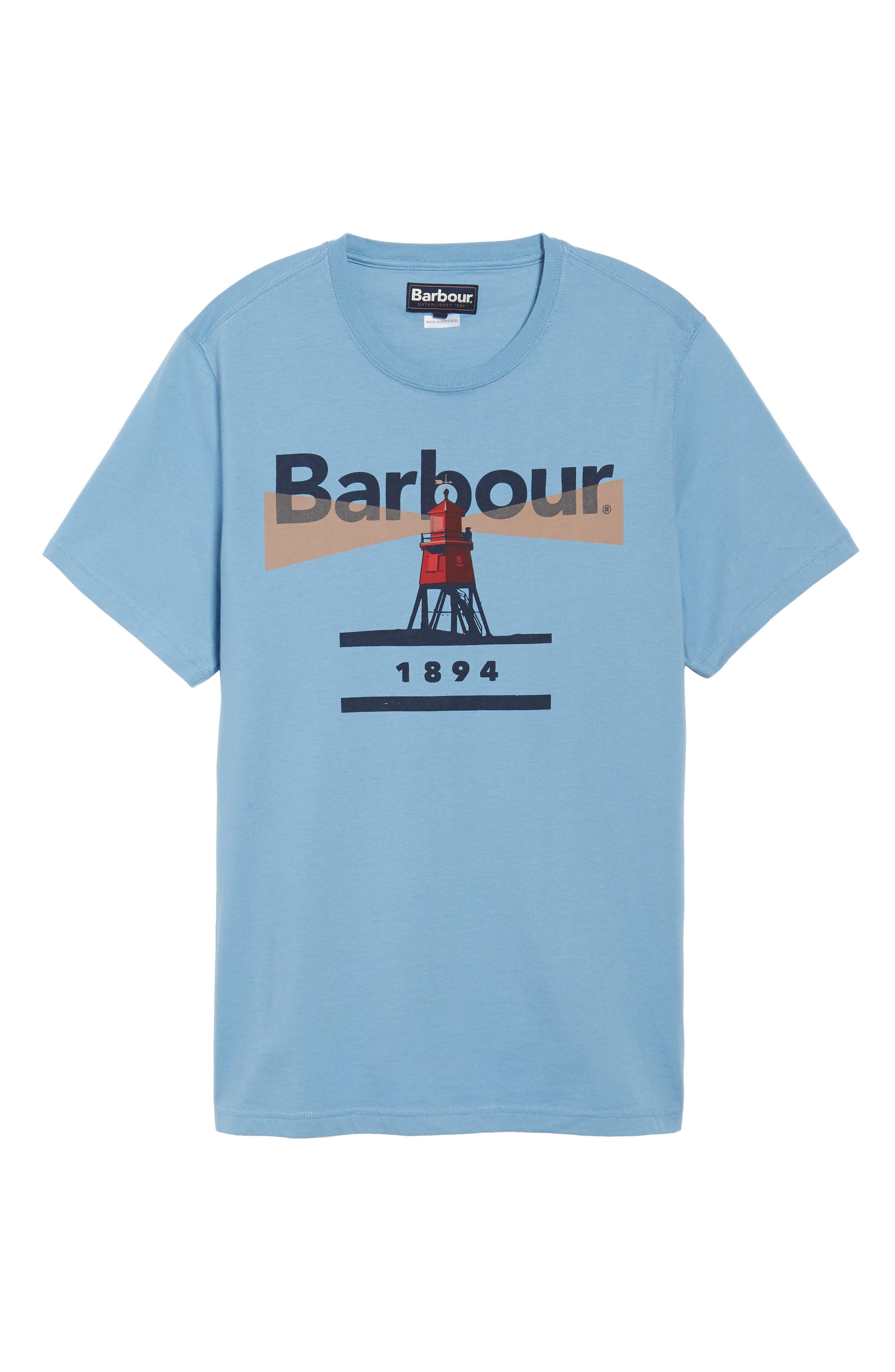 Beacon 94 Crewneck T-Shirt,                             Alternate thumbnail 6, color,                             Blue